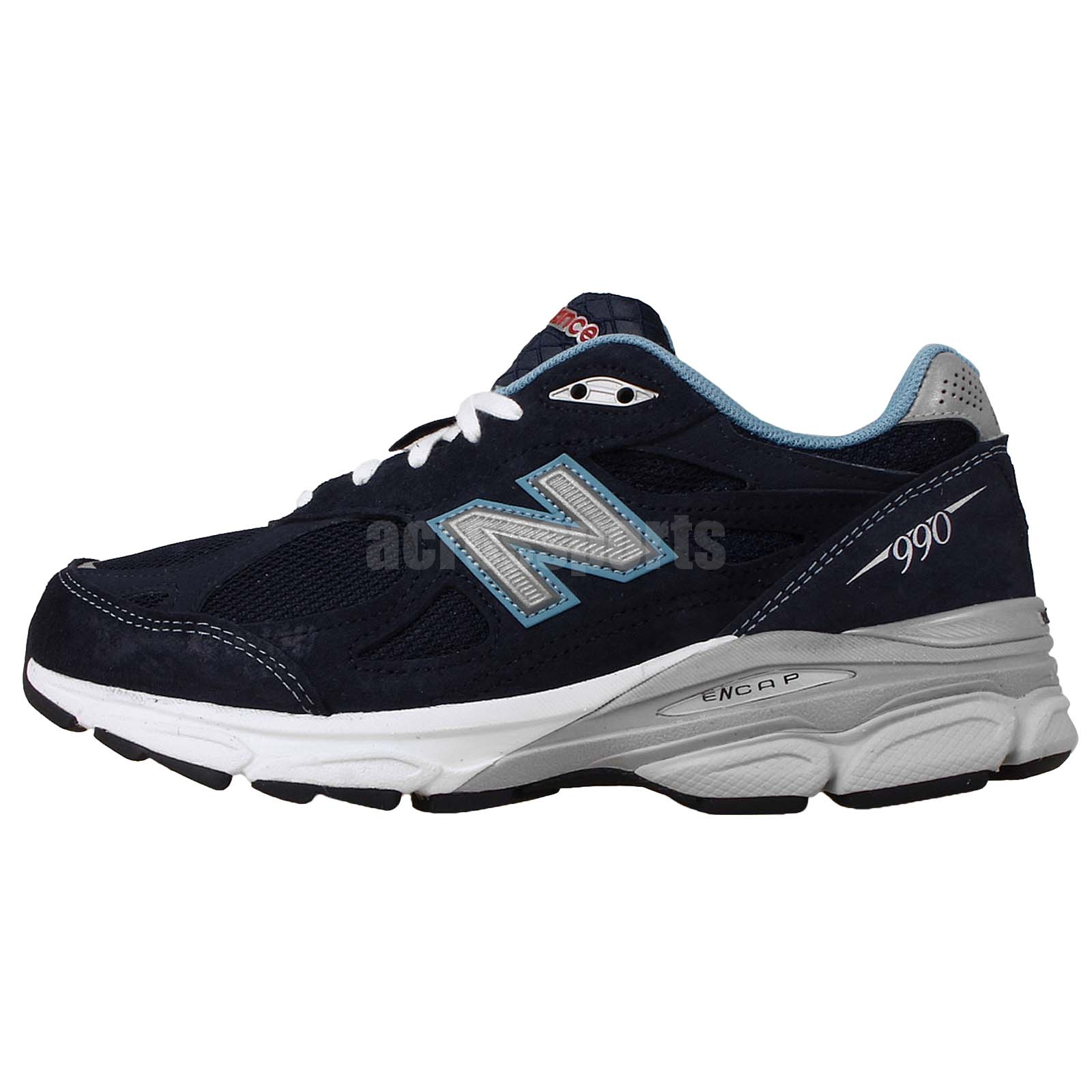 New Balance W990NV3 D Navy Grey 2014 Womens Running Casual Shoes W990NV3D