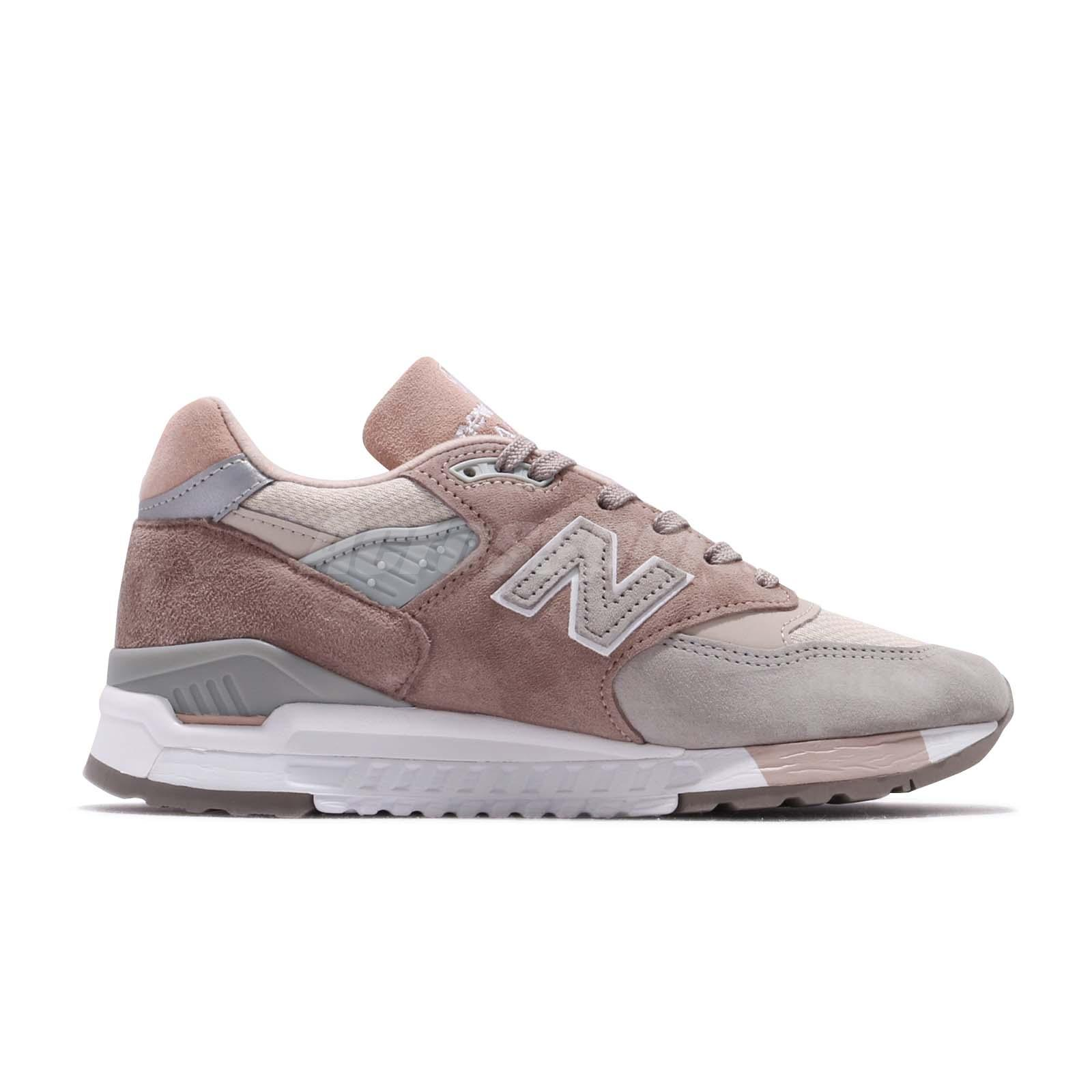 genuine shoes new lower prices shoes for cheap Details about New Balance W998AWA B Made In USA Pink Grey White Women Shoes  Sneakers W998AWAB