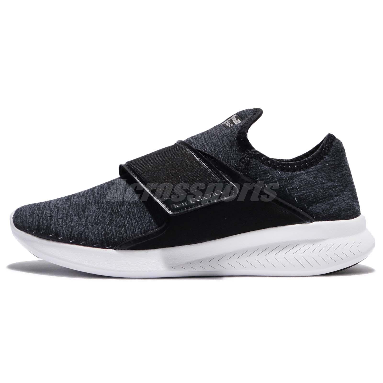 2b759589b11e1 New Balance WCOASHB3 D Fuel Core Coast Black Grey Women Running Shoes  WCOASHB3D