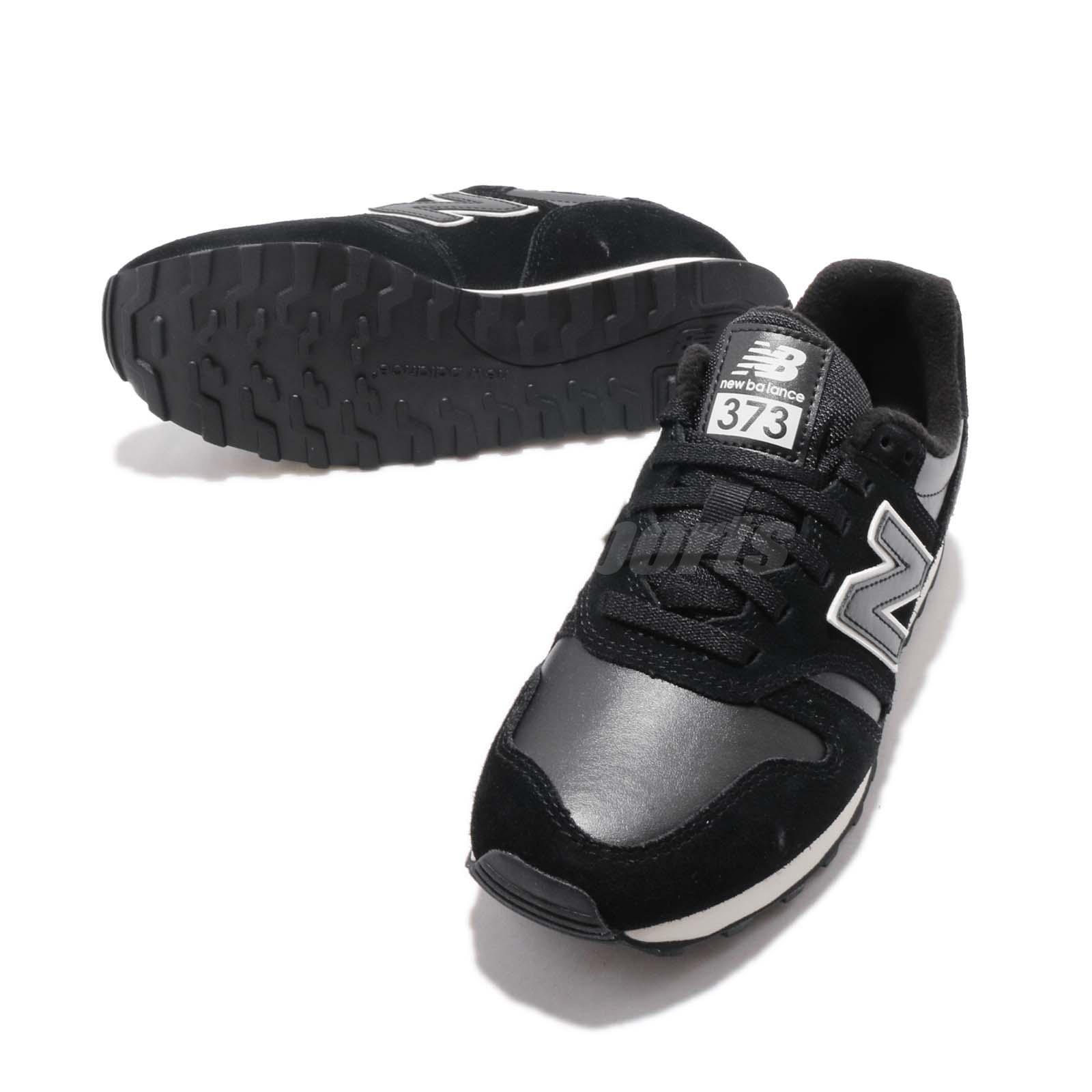 caf4c4f04101f New Balance WL373BBL B Black White Women Running Casual Shoes ...