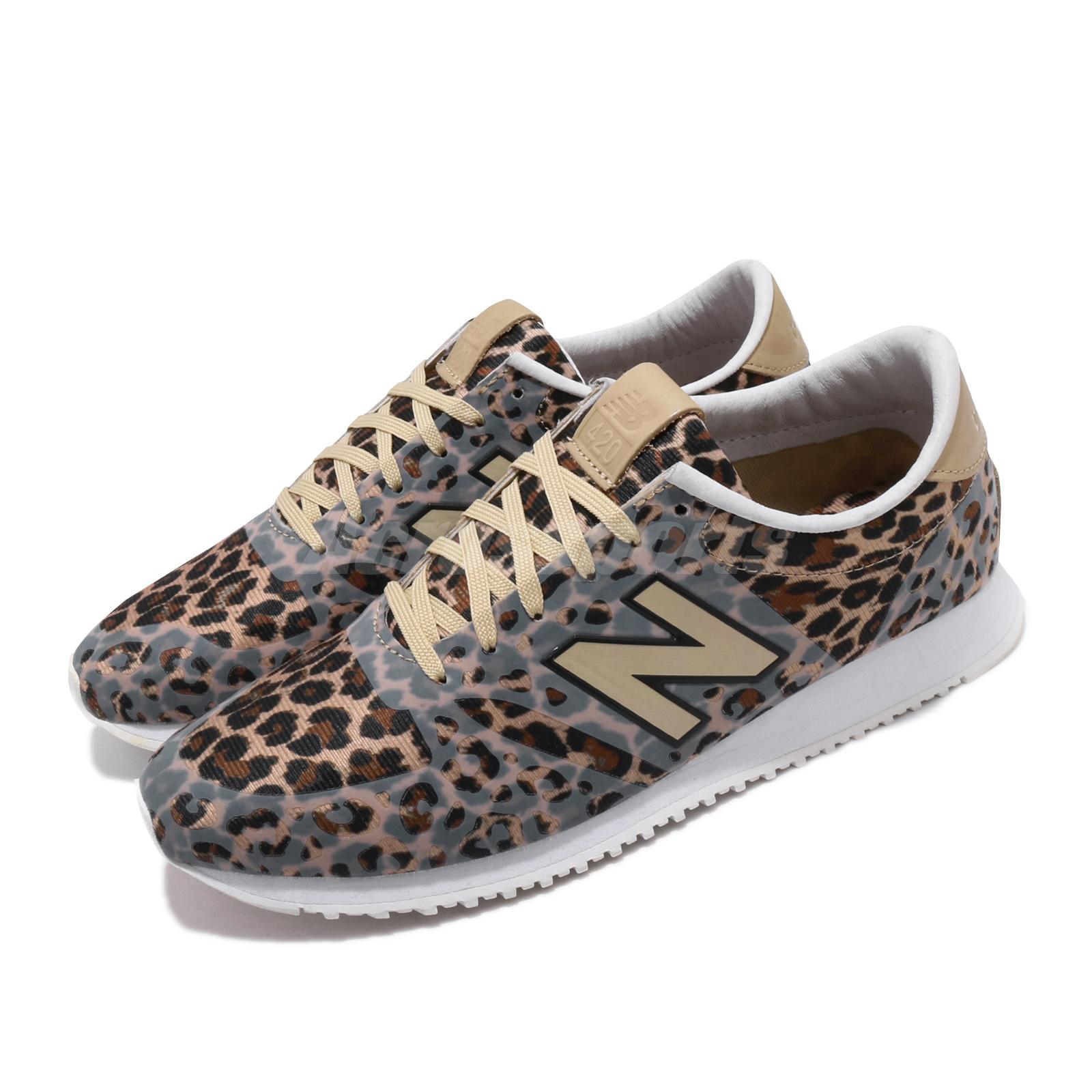 Details about New Balance WL420 Leopard Print Brown Women Running Shoes  Sneakers WL420DFL B