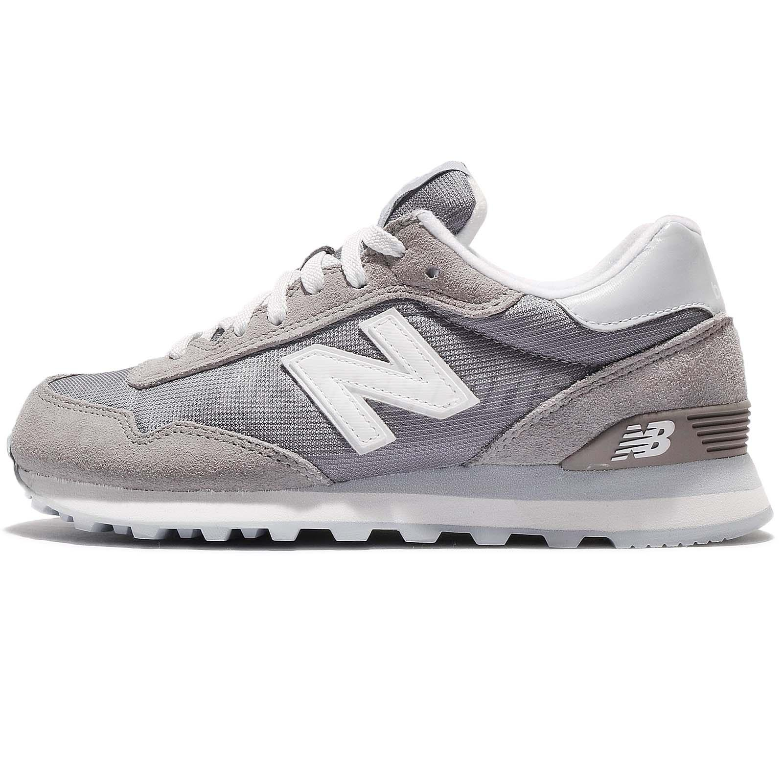 New Balance WL515IFC B Suede Grey White Women Running Shoes Sneakers WL515IFCB