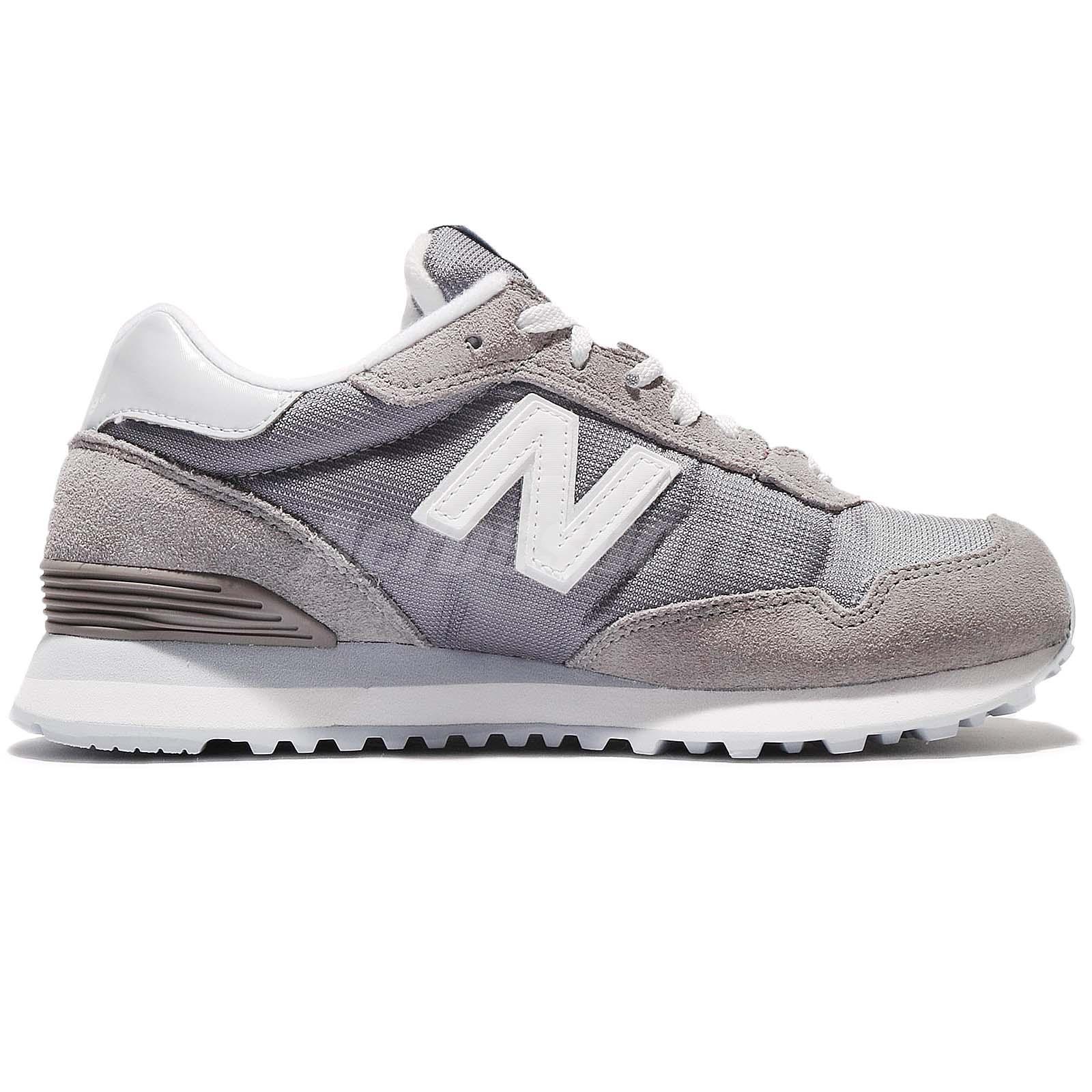 New Balance WL515IFC B Suede Grey White Women Running Shoes Sneakers ... 3cfd96ac547aa