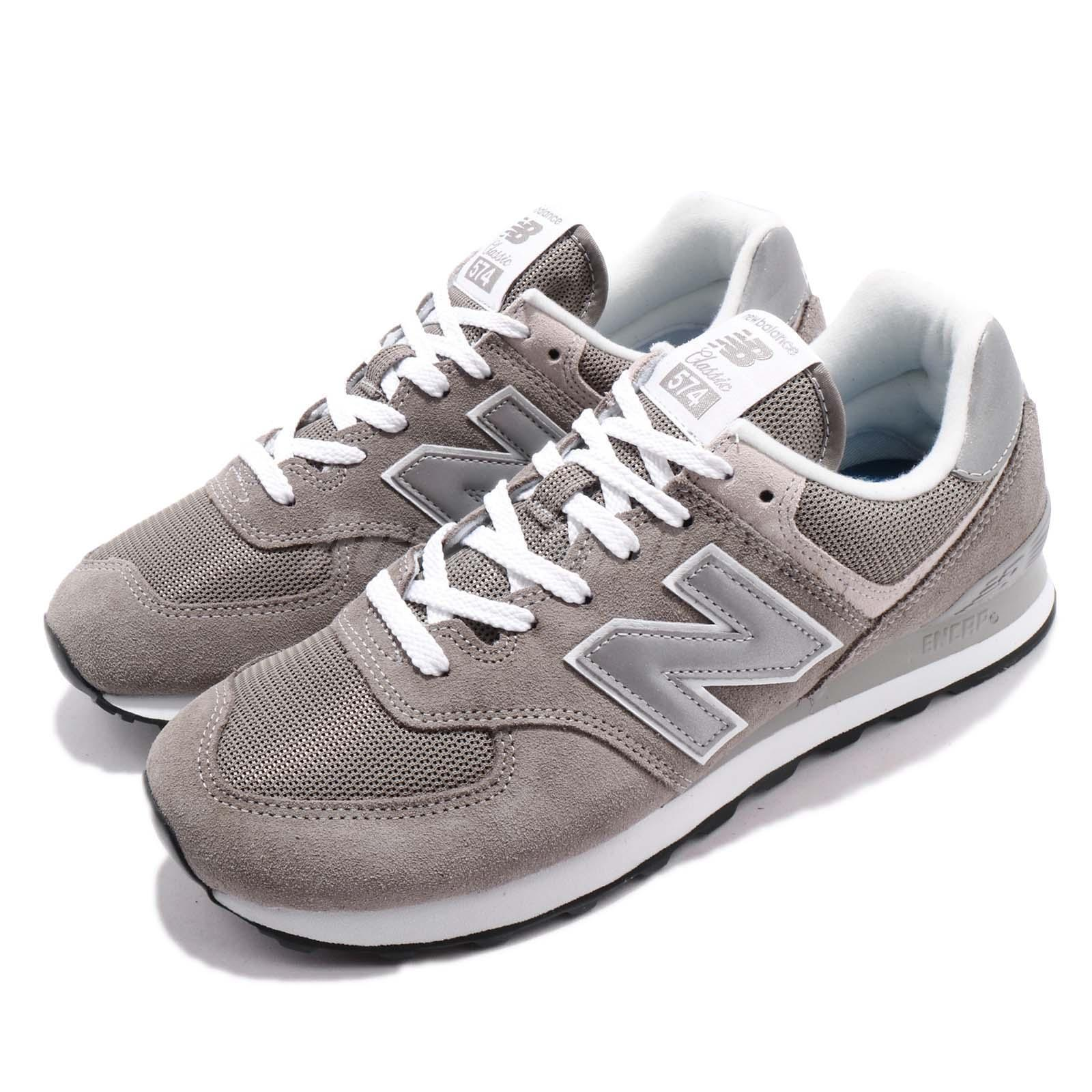 huge selection of 2f8c3 7a9cb Details about New Balance WL574EG B 574 Grey White Women Running Shoes  Sneakers WL574EGB