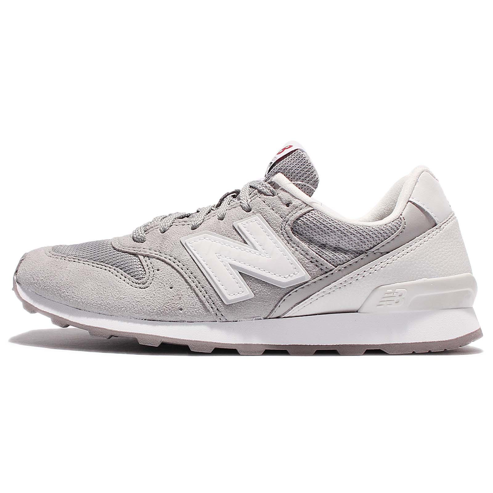 womens new balance light grey 996 trainers
