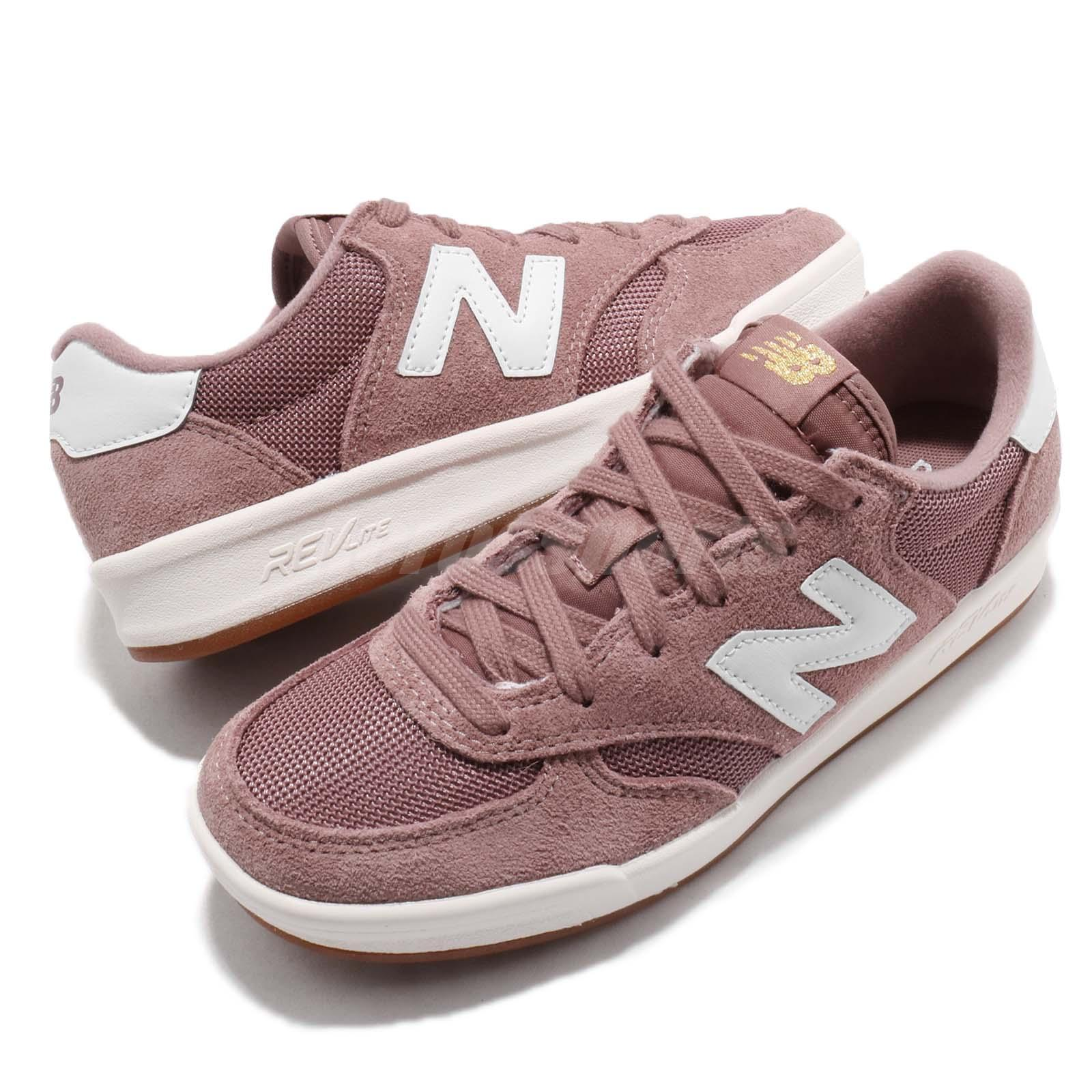cáscara melocotón Burro  New Balance WRT300 B Dark Pink Suede Womens Lifestyle Casual Shoes WRT300FH  B | eBay