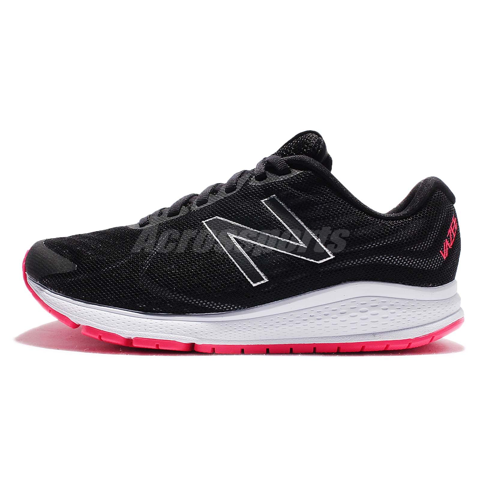 New Balance WRUSHPB2 D Wide Vazee Rush v2 Black Pink Women Running WRUSHPB2D
