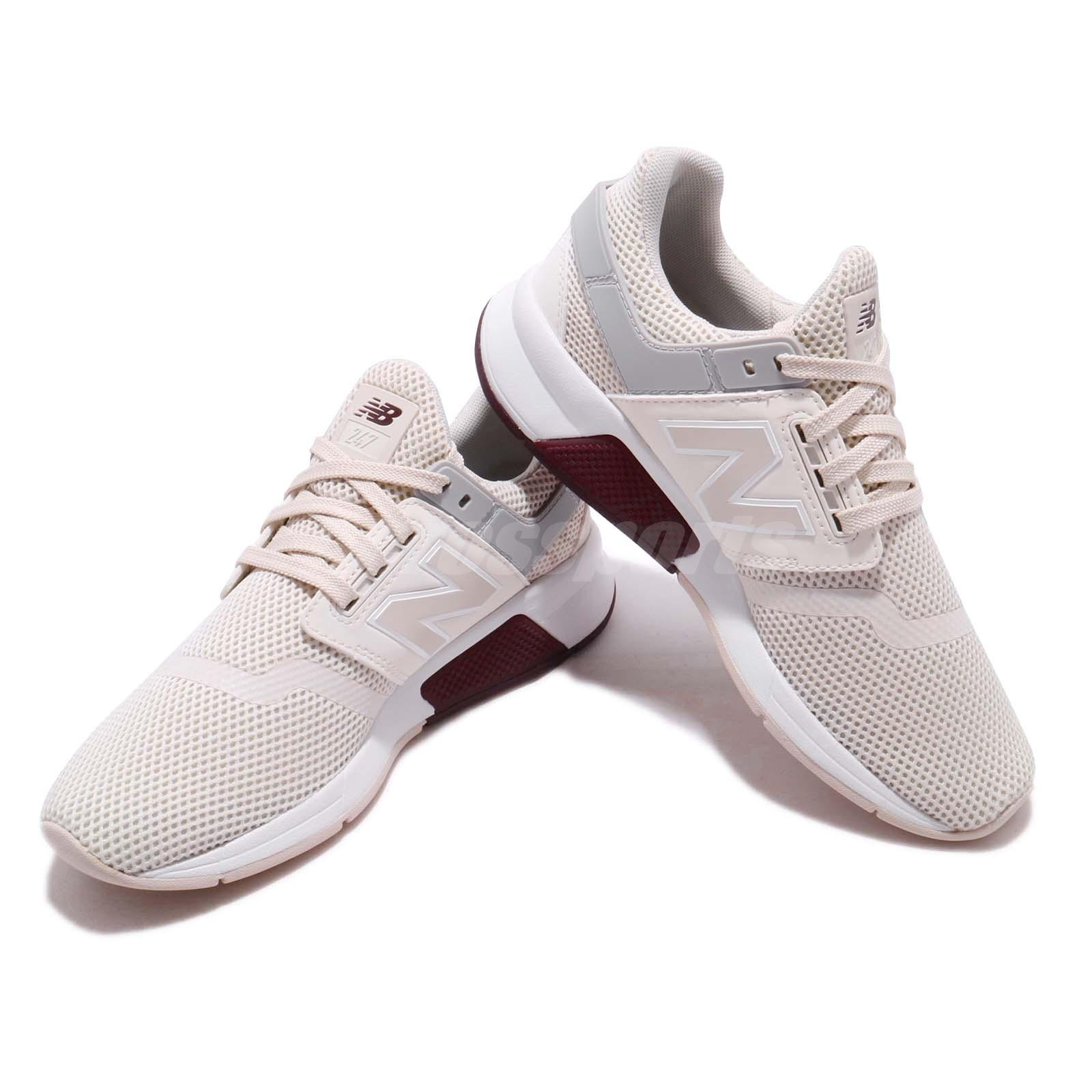 Details about New Balance WS247TRE B Ivory White Grey Women Running Shoes Sneakers WS247TREB