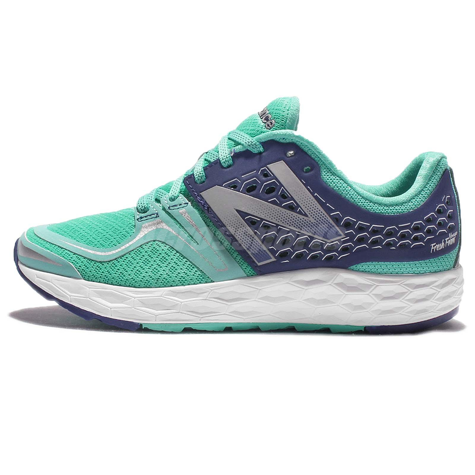 New Balance WVNGOBY D Wide Fresh Foam Vongo Green Womens Running Shoes  WVNGOBYD
