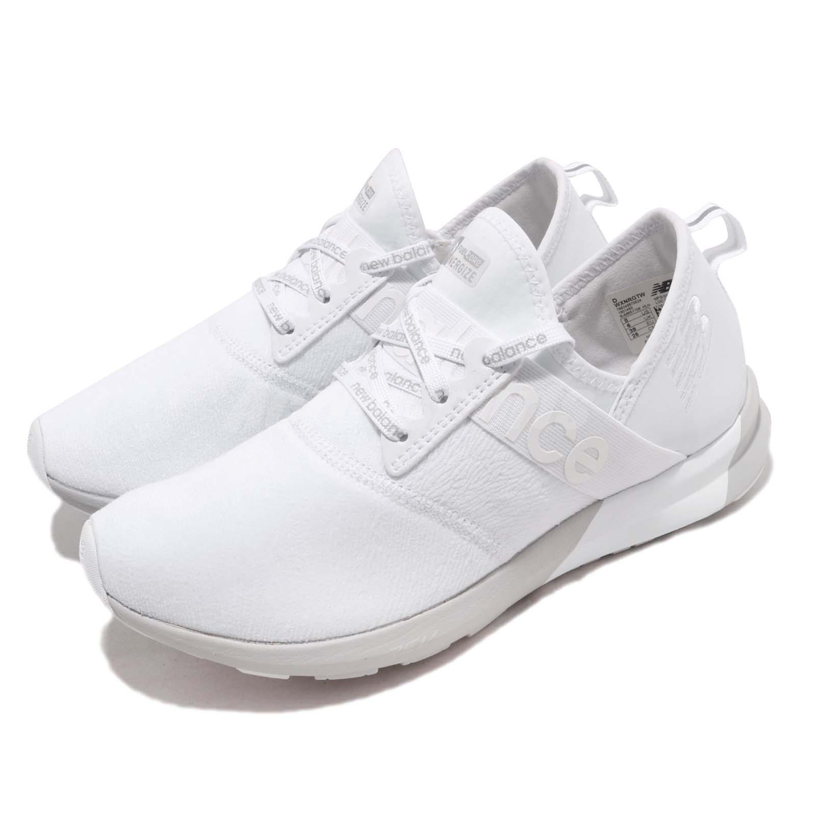 03ddff3d5ec Details about New Balance WXNRGTW D Wide White Grey Women Running Shoes  Sneakers WXNRGTWD