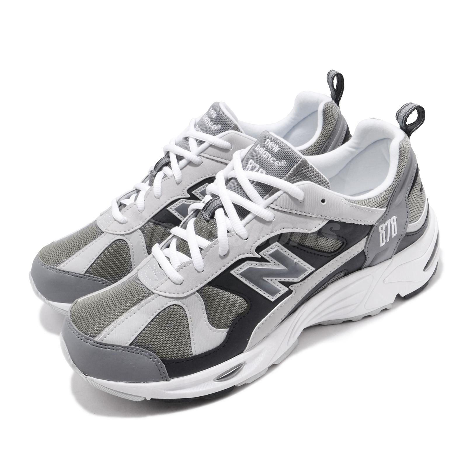 New Balance CM878GRY D Grey White Men