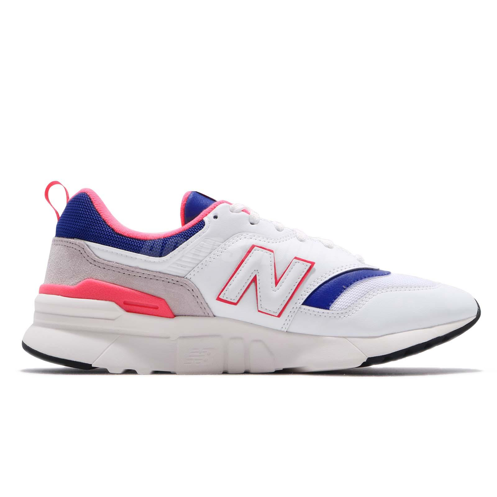 New Balance CM997HAJ D White Blue Pink