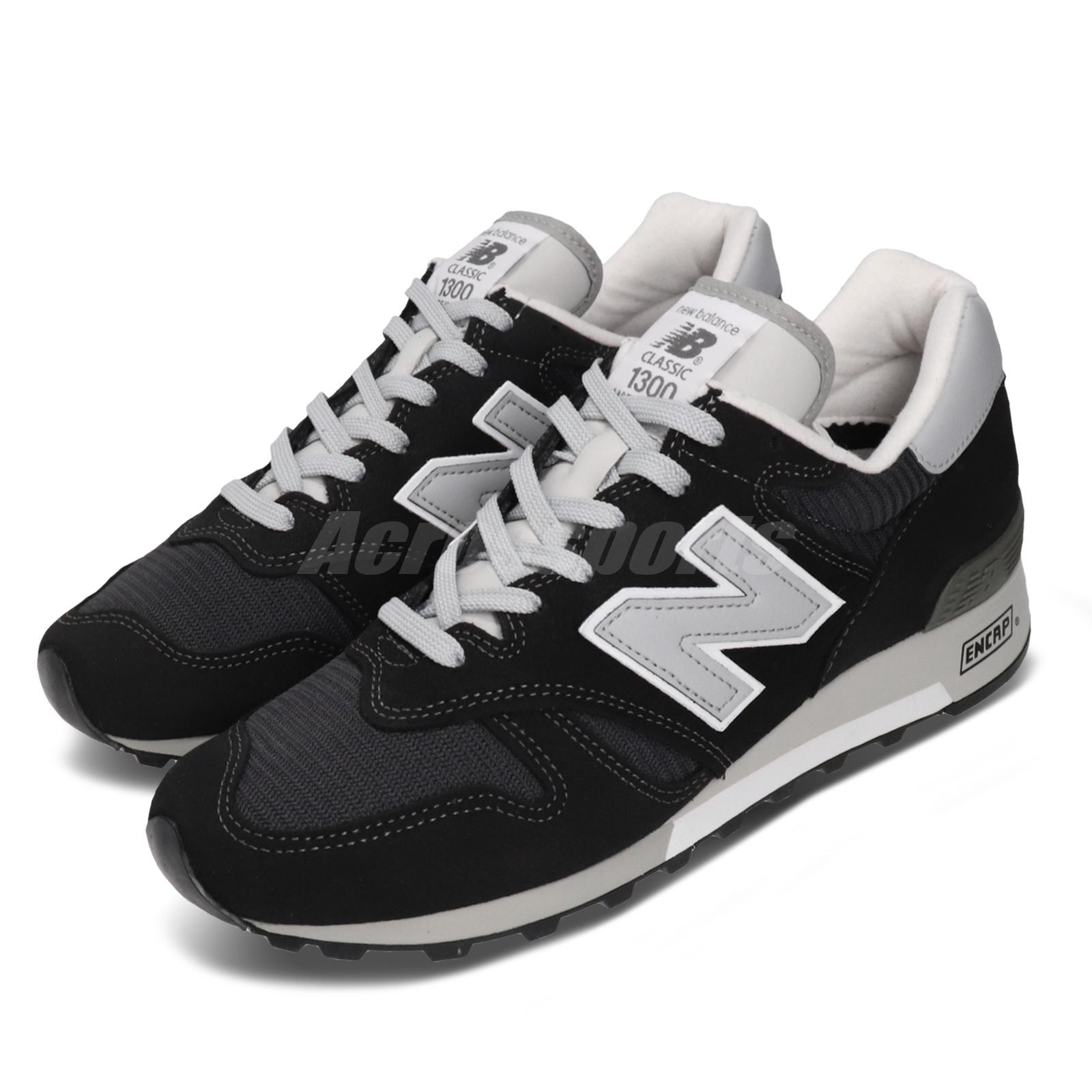 New balance 1300 Negro Gris Gamuza