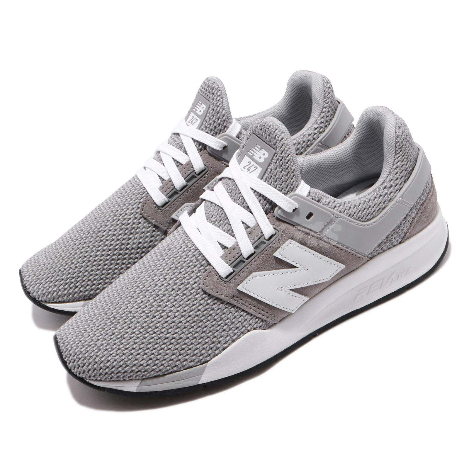 New Balance 247 D Grey White Mens