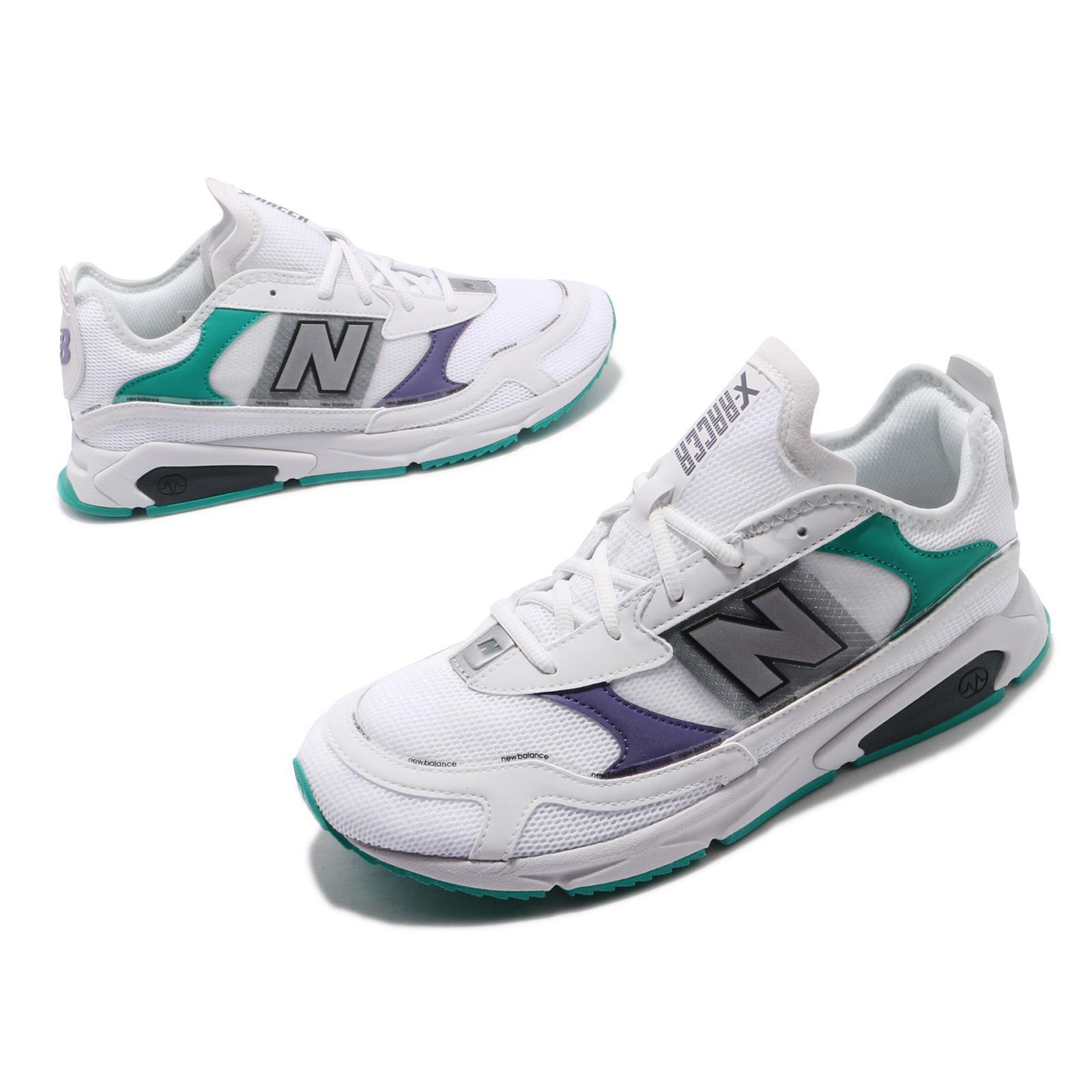 New Balance X-Racer White Silver Green