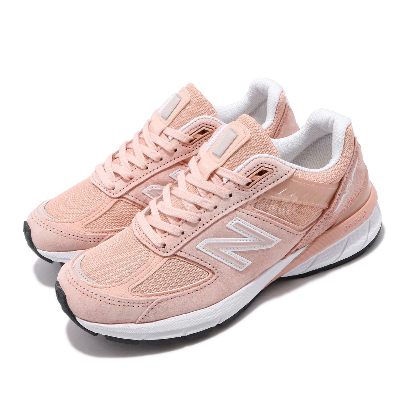 New Balance 990 v5 B Pink White Made In