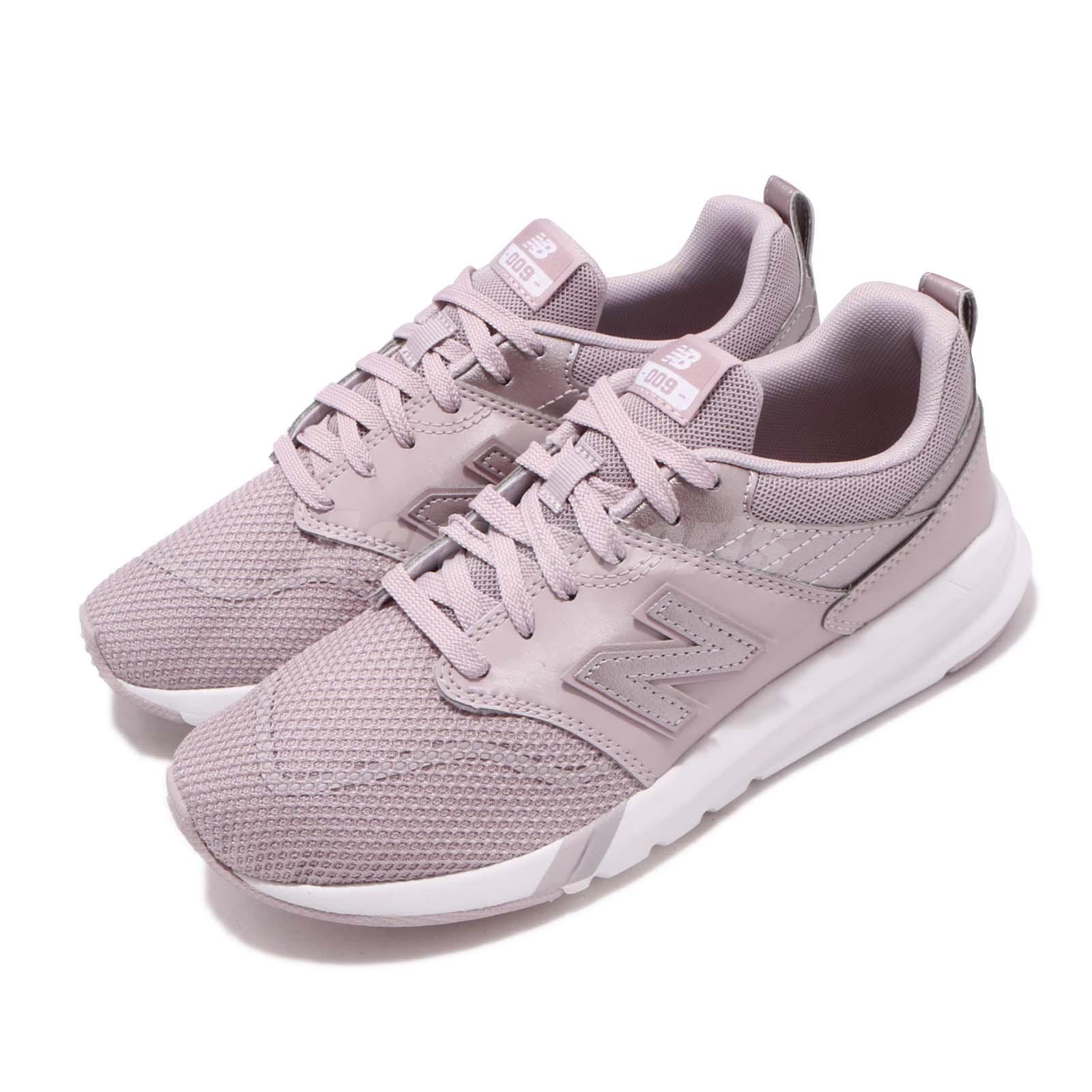 New Balance 009 Pink Grey White Women