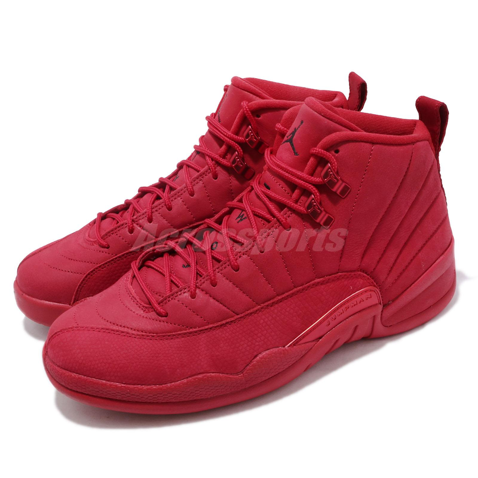 brand new 6cf73 d5ec3 Details about Nike Air Jordan 12 Retro XII Gym Red AJ12 Bulls Toro Sneakers  2018 130690-601