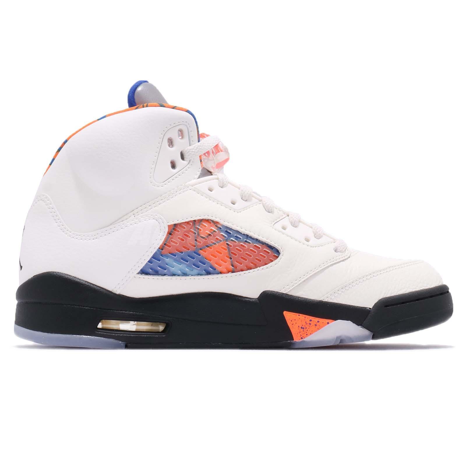 8f71a609a91e6c Nike Air Jordan 5 Retro V AJ5 International Flight Orange Men Shoes ...