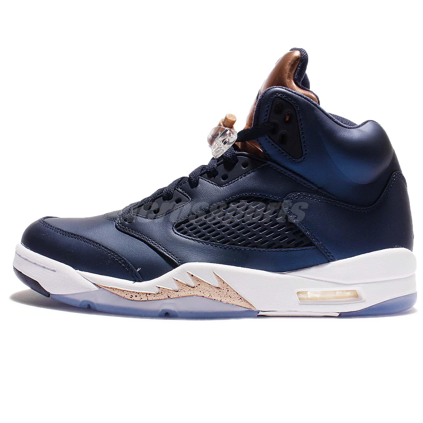 quality design 6e0c5 dc314 Nike Air Jordan 5 Retro V Rio Olympics Men Gold 136027-133   Bronze 136027- 416 – Housakicks