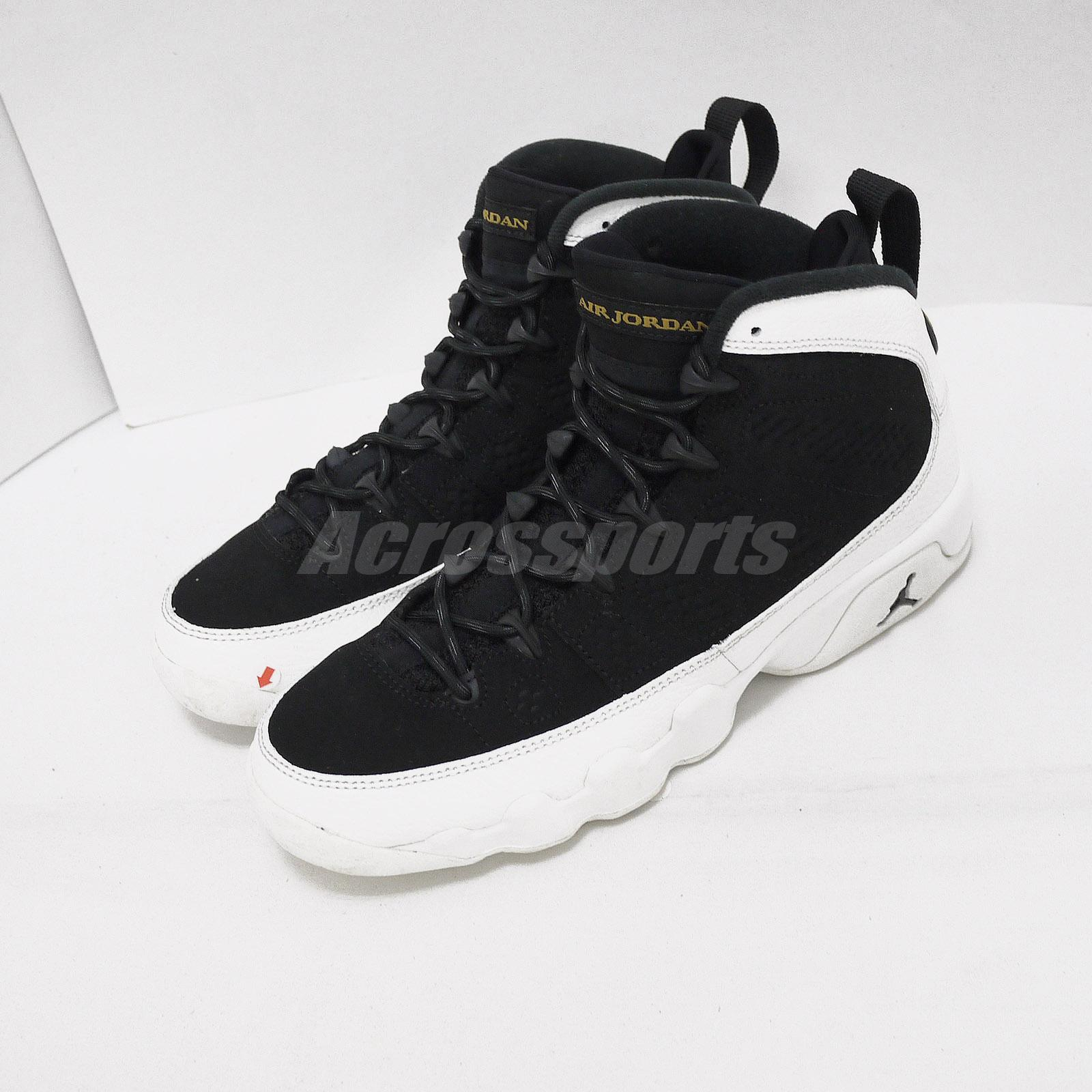 more photos 6cbc1 037ea Details about Nike Air Jordan 9 Retro BG Pre-owned With Defect Kid Women  Shoes US6Y 302359-021