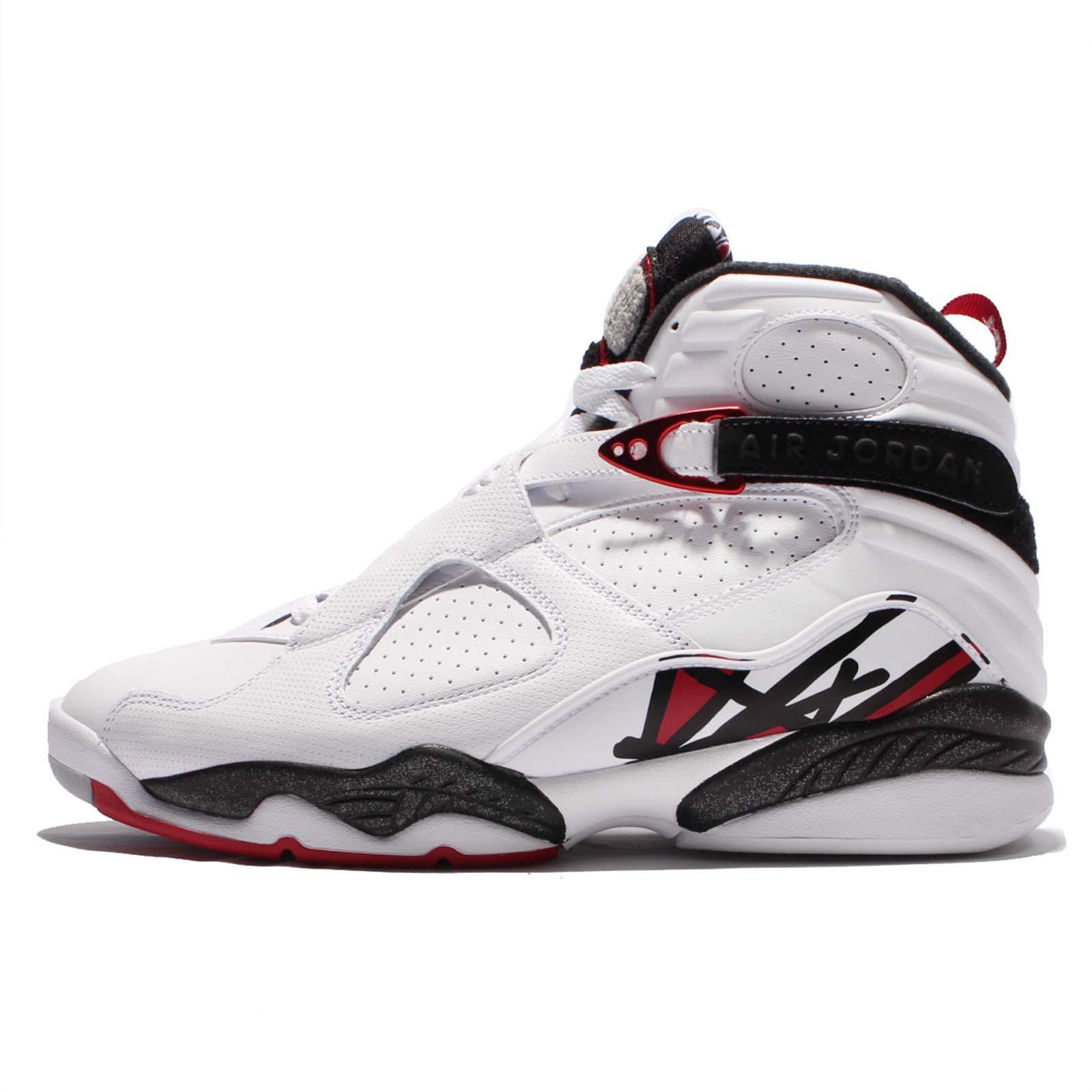 bfe11007603 ... Nike Air Jordan 8 Retro VIII Alternate Collection White Red Men AJ8  305381-104 ...