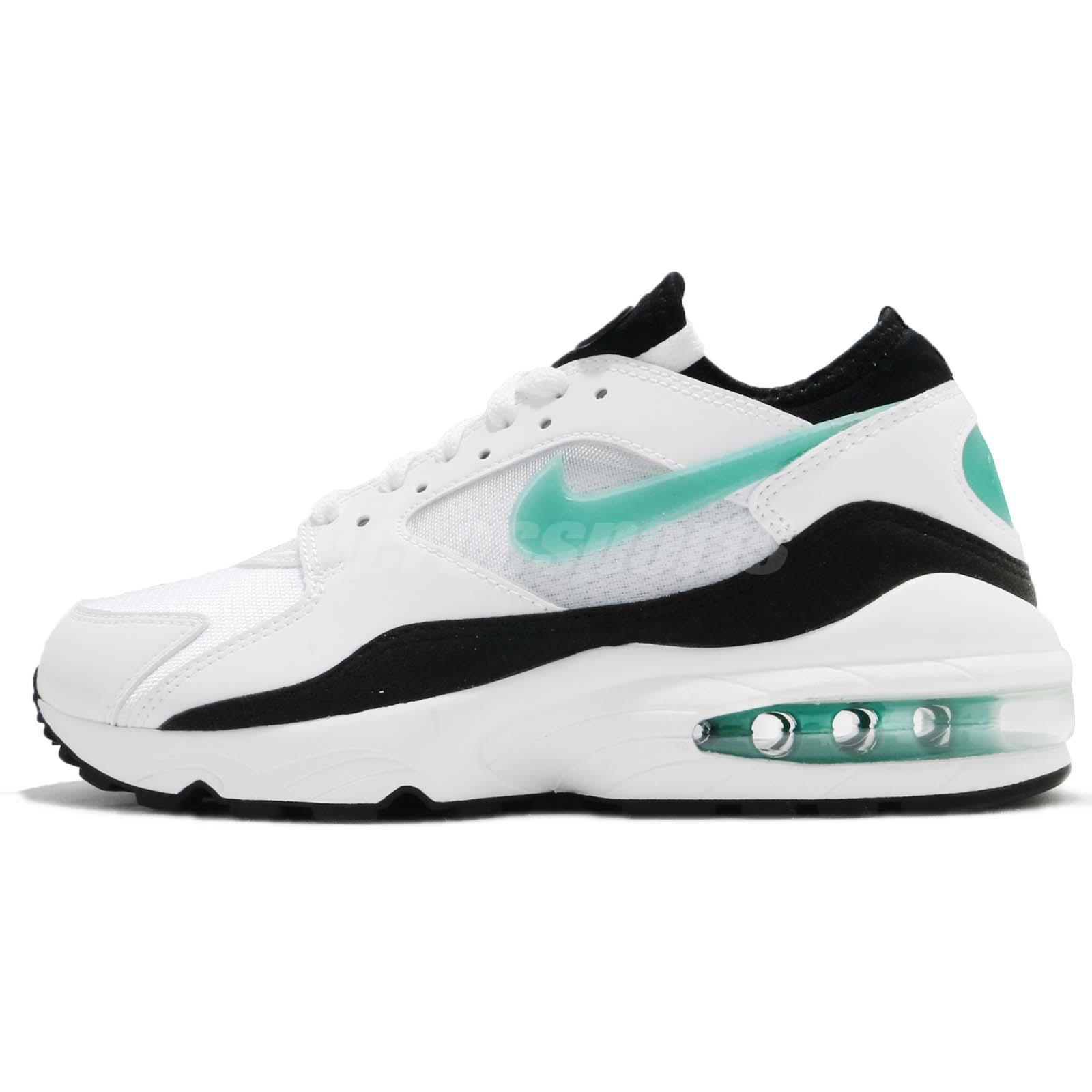 Nike Wmns Air Max 93 OG White Turquiose Dusty Cactus 2018 Women Shoes  307167-100