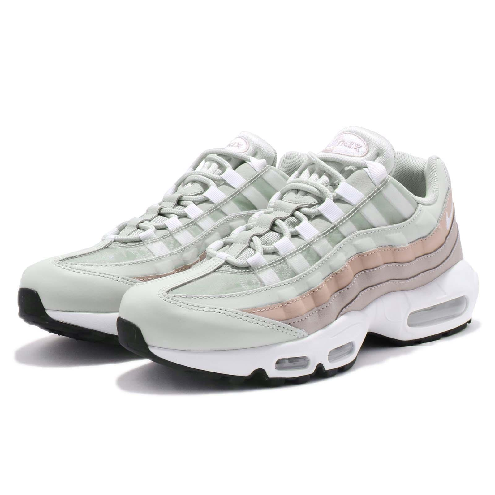 Details about Nike Wmns Air Max 95 Moon Particle Light Silver Women Running Shoes 307960 018