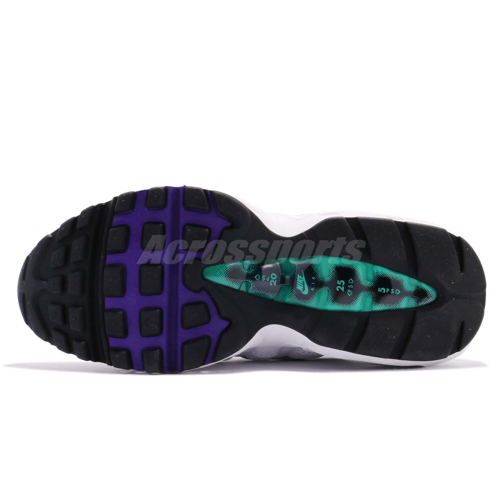8fa90161e4a Nike Wmns Air Max 95 Left Foot With Discoloration Purple Women Shoes ...