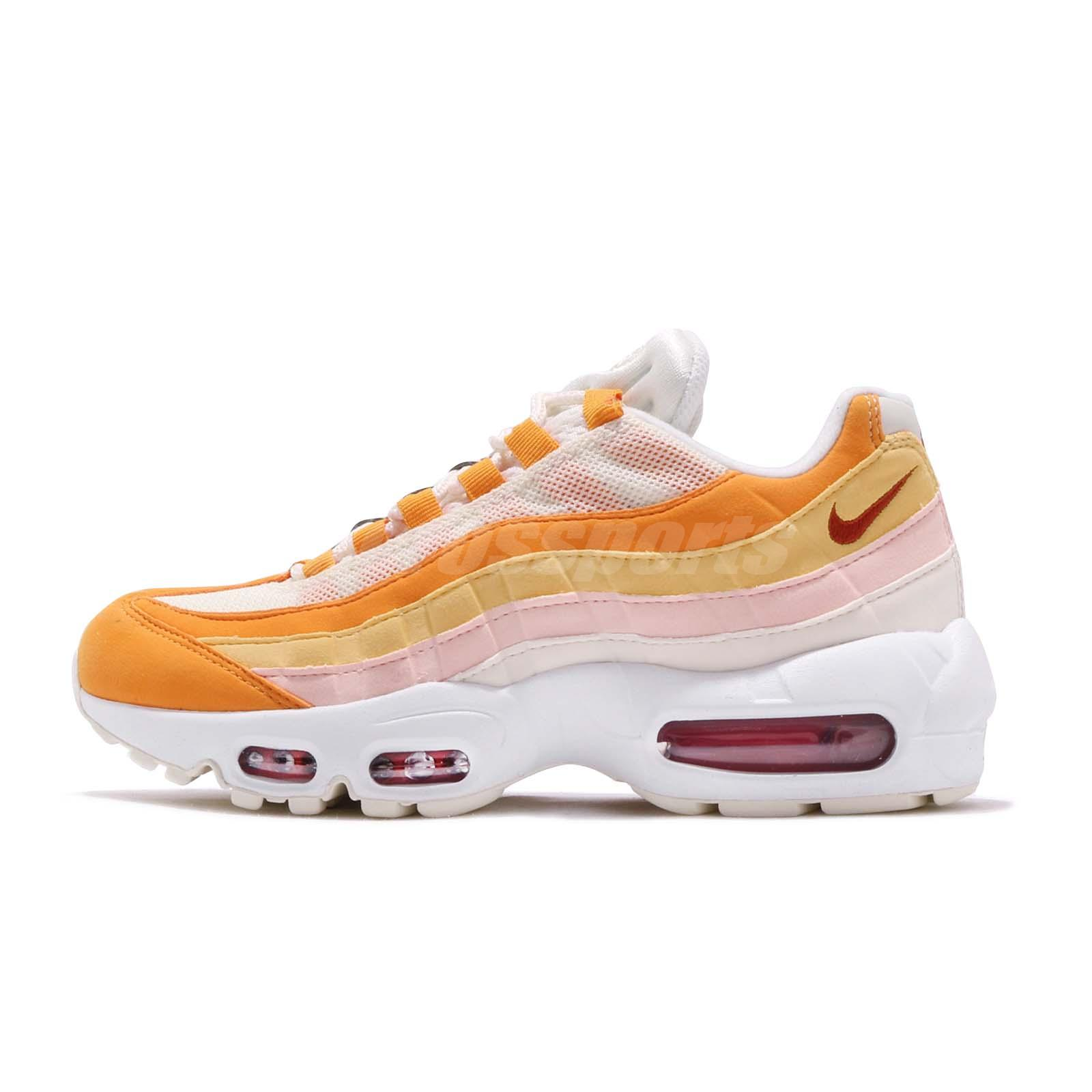 wholesale dealer 63dd5 40dd4 Nike Wmns Air Max 95 Bacon Orange Ivory Pink Womens Running Shoes 307960-114