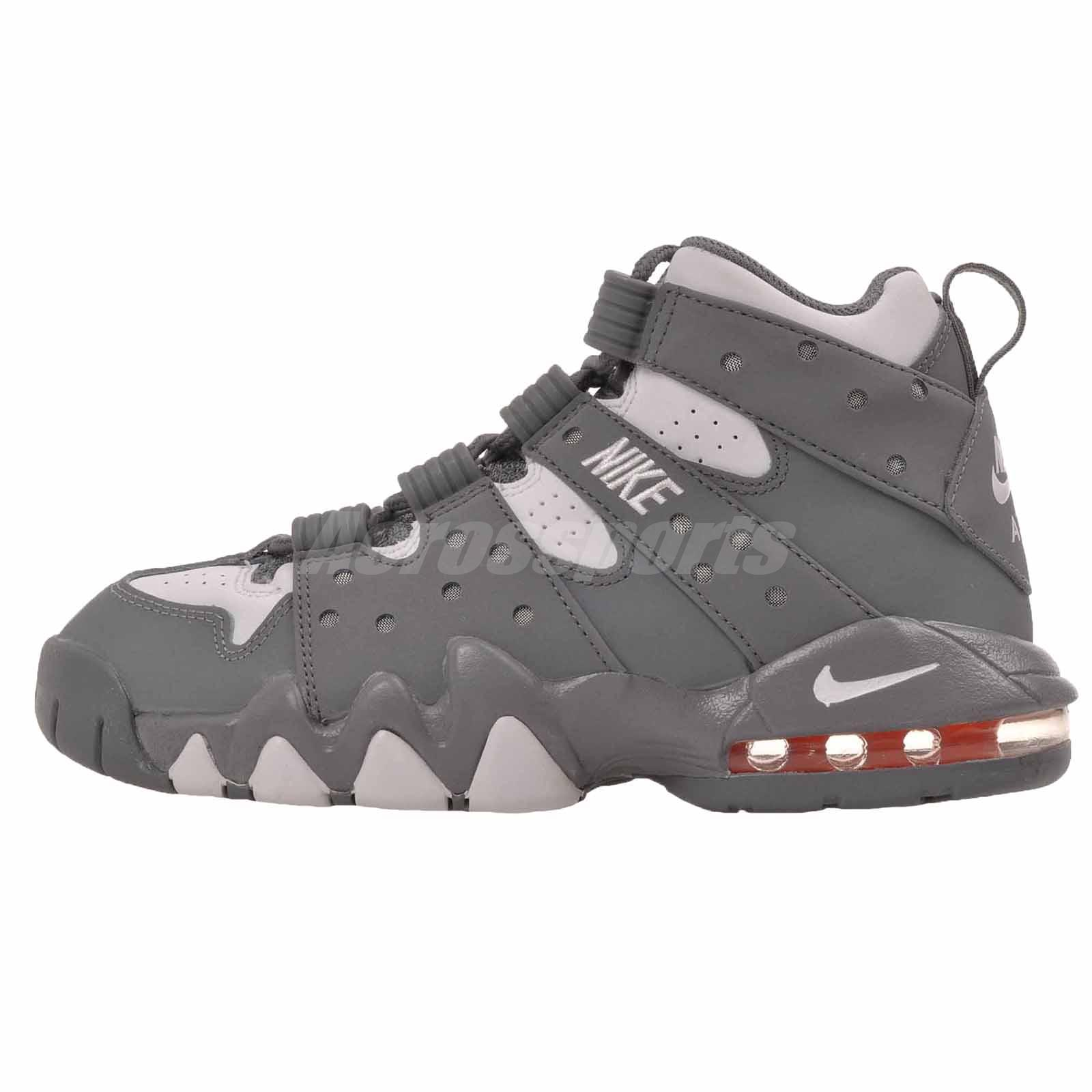 Nike Air Max CB 94 (GS) Kids Youth Boys Barkley Basketball Shoes Grey  309560-008