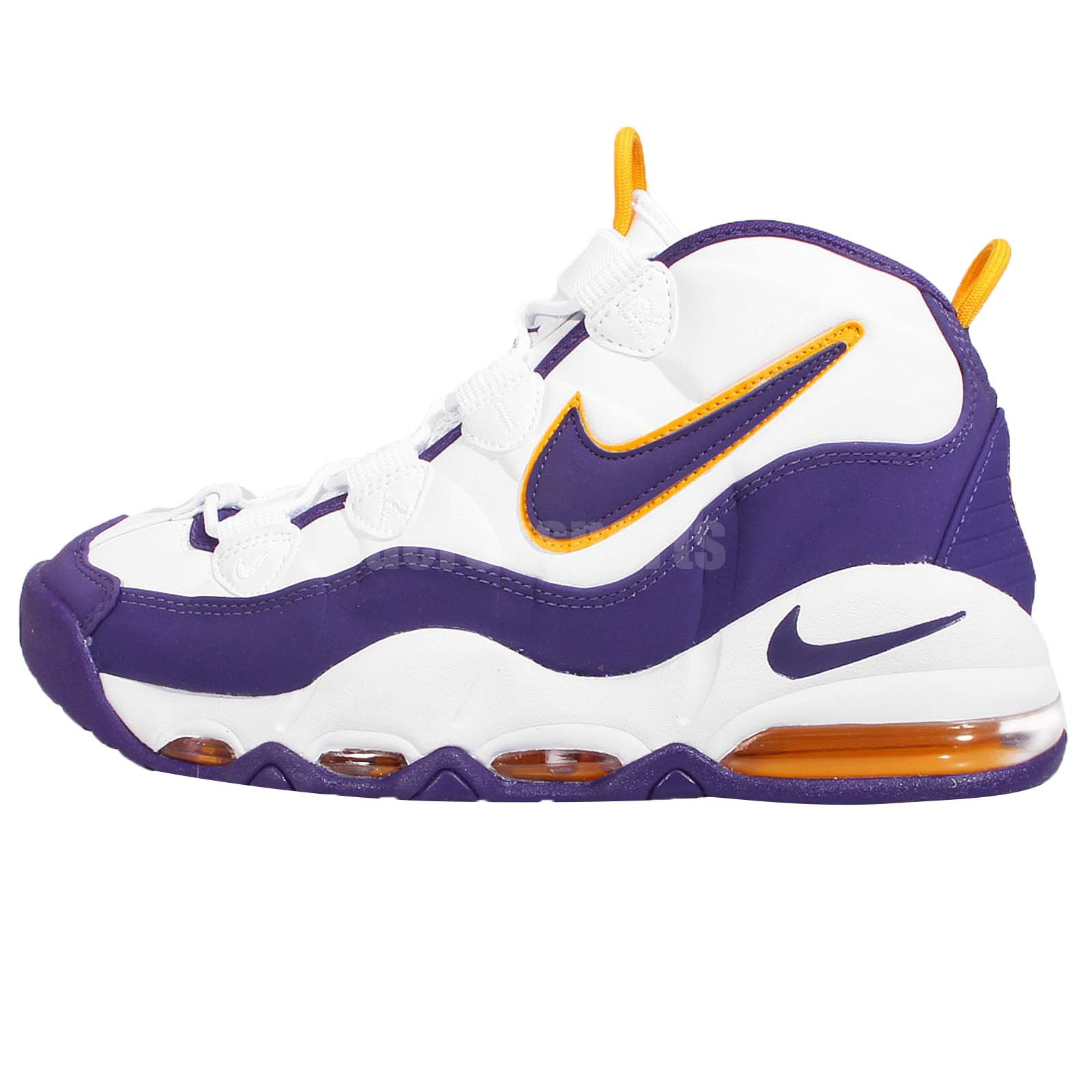 Nike Air Max Uptempo LA Lakers Mens Retro Basketball Shoes Sneakers  311090-103