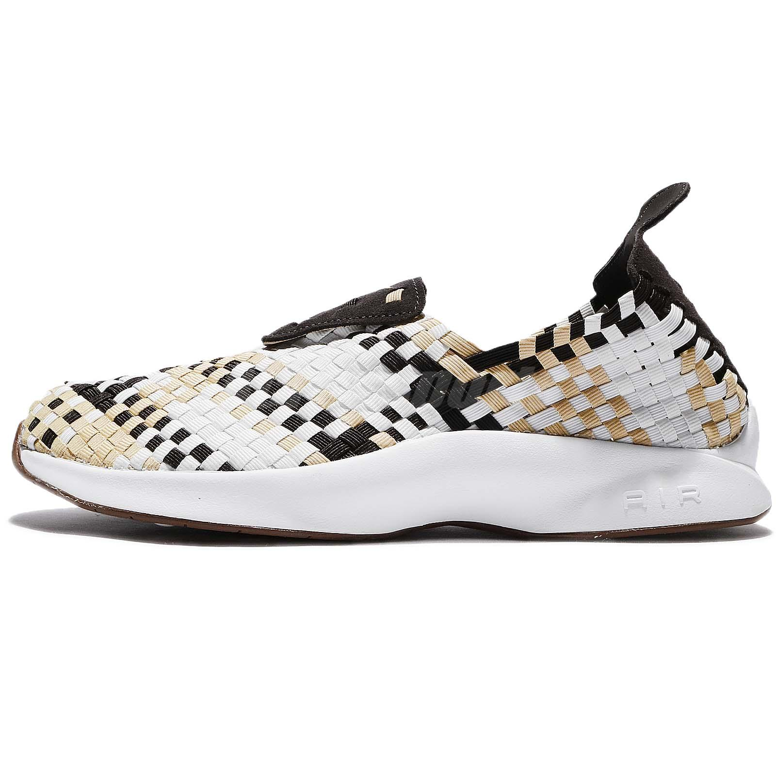 0d5eeb723c7c Nike Air Woven Velvet Brown Sail Men Classic Shoes Sneakers Slip-On  312422-200