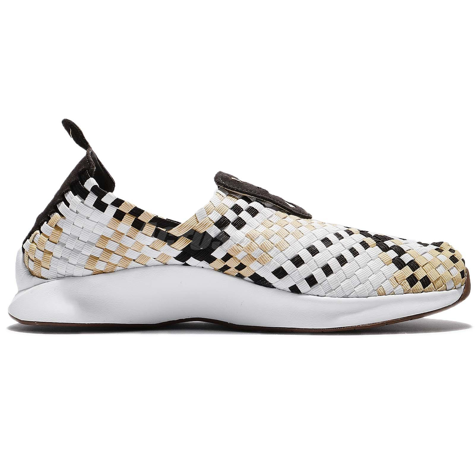 90b6ae7ea4c8 Nike Air Woven Velvet Brown Sail Men Classic Shoes Sneakers Slip-On ...