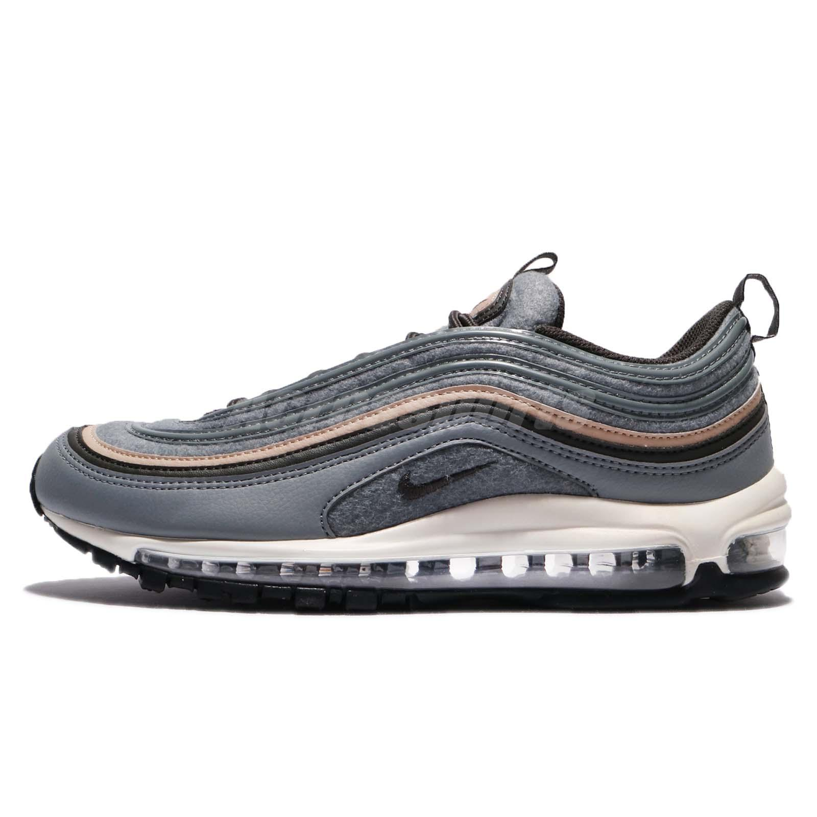 Nike Air Max 97 Premium Cool Grey Deep Pewter Mushroom Men Shoes 312834-003