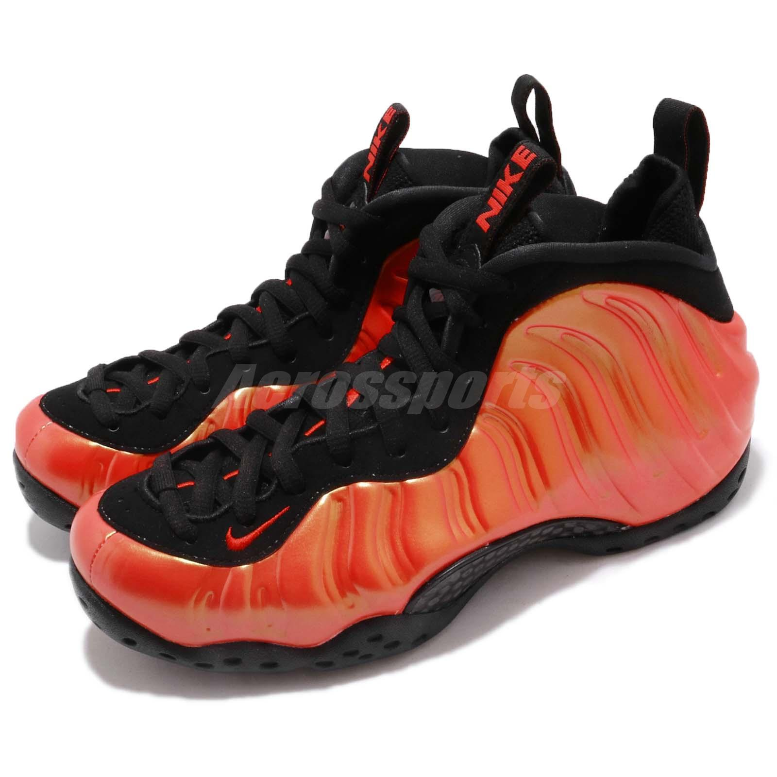7b28e6fd193 Details about Nike Air Foamposite One Penny Habanero Red Black Men Shoes  Sneakers 314996-603