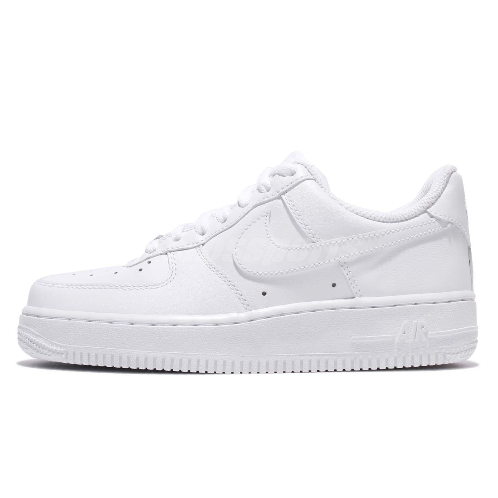 95468db083fe9 Wmns Air Force 1 07 Whiteout Womens Classic Shoes AF1 Sneakers 315115-112