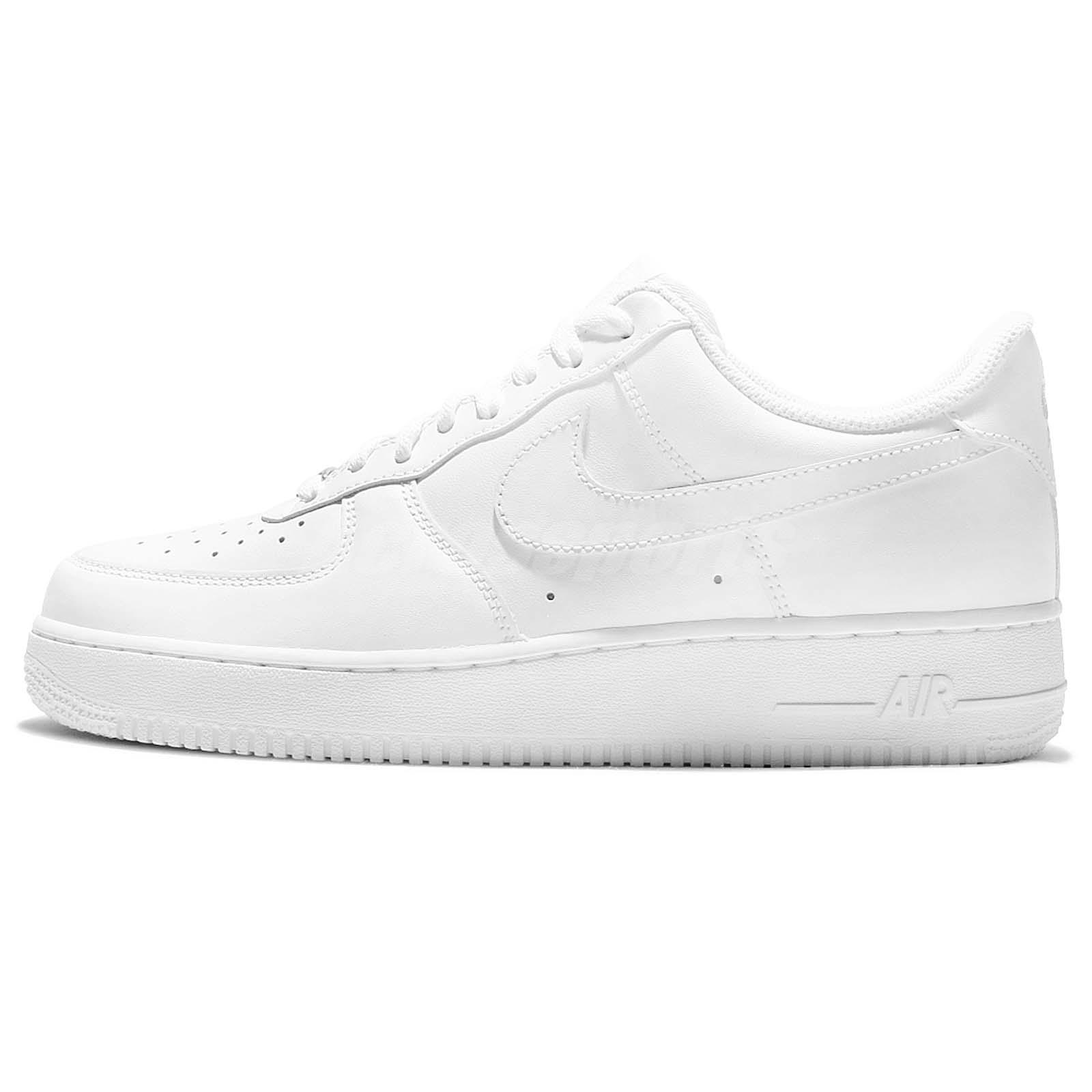 nike air force office london. Nike Air Force 1 07 All Triple White Classic Mens Shoes Sneakers AF1 315122-111 Office London