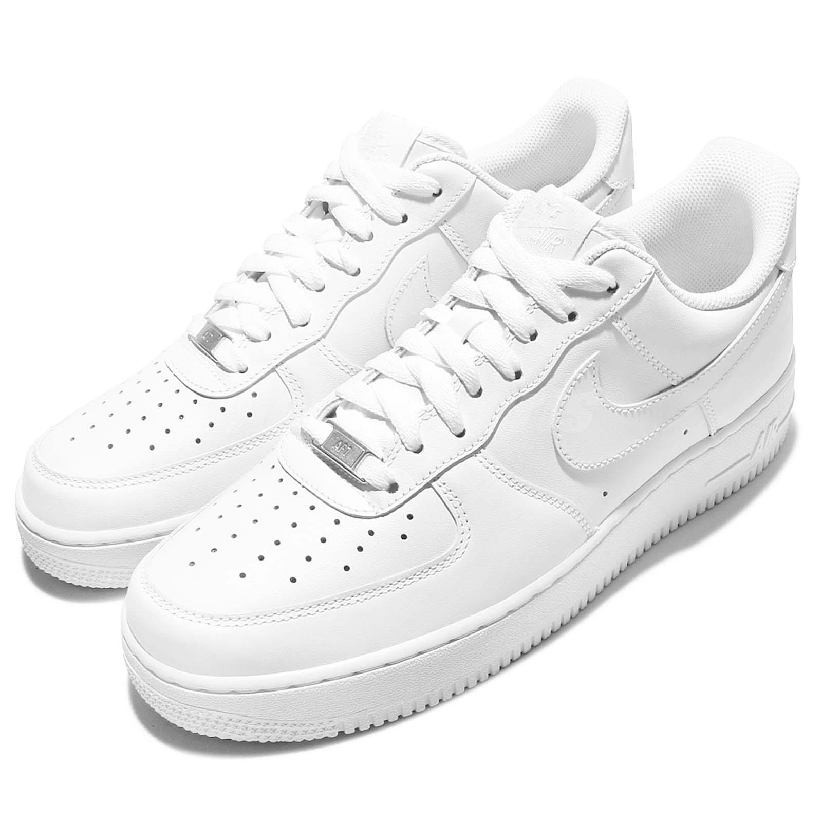 Details about Nike Air Force 1 07 All Triple White Classic Mens Shoes  Sneakers AF1 315122-111