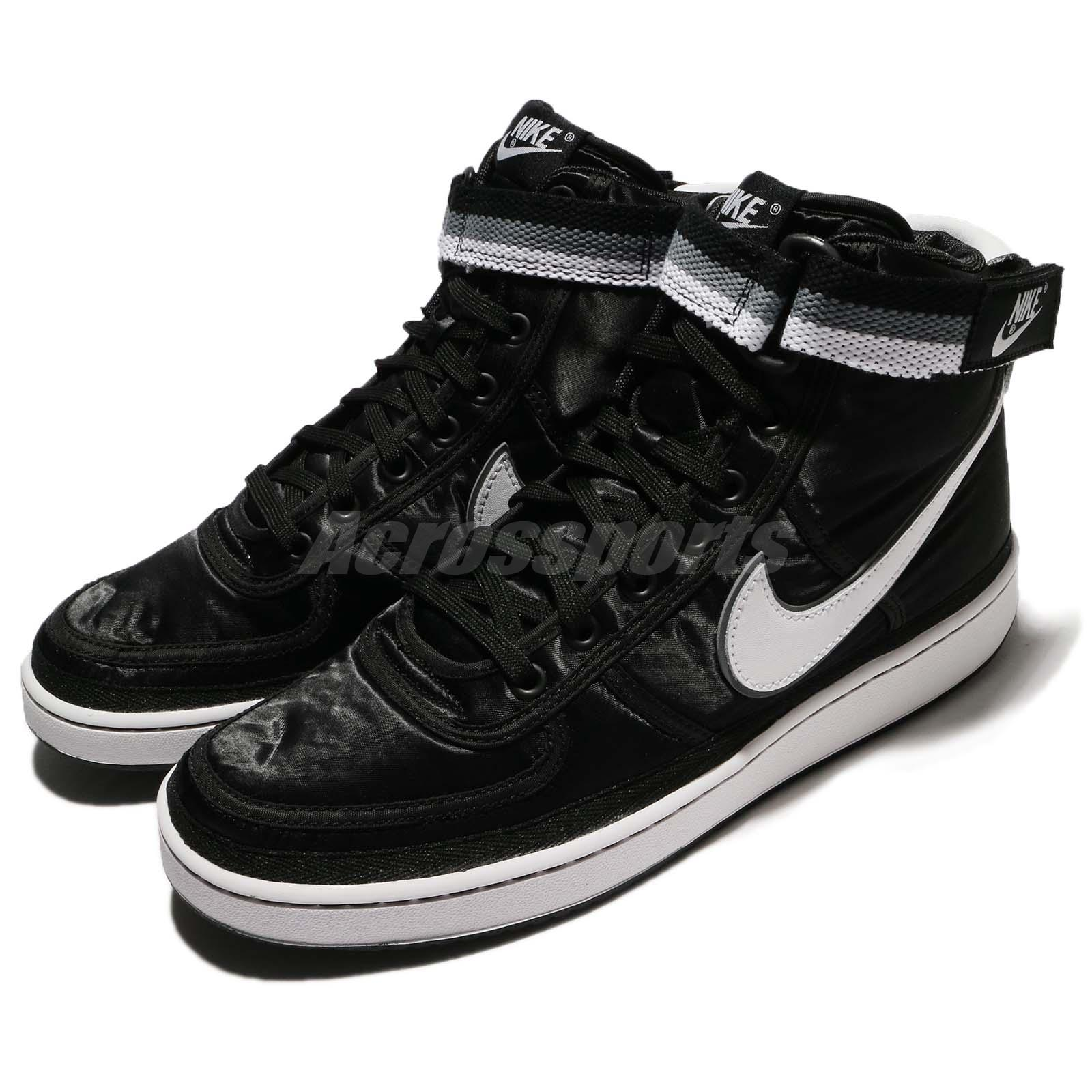 a571b3b8b88 Details about Nike Vandal High Supreme Black White Men Classic Shoes  Sneakers 318330-001