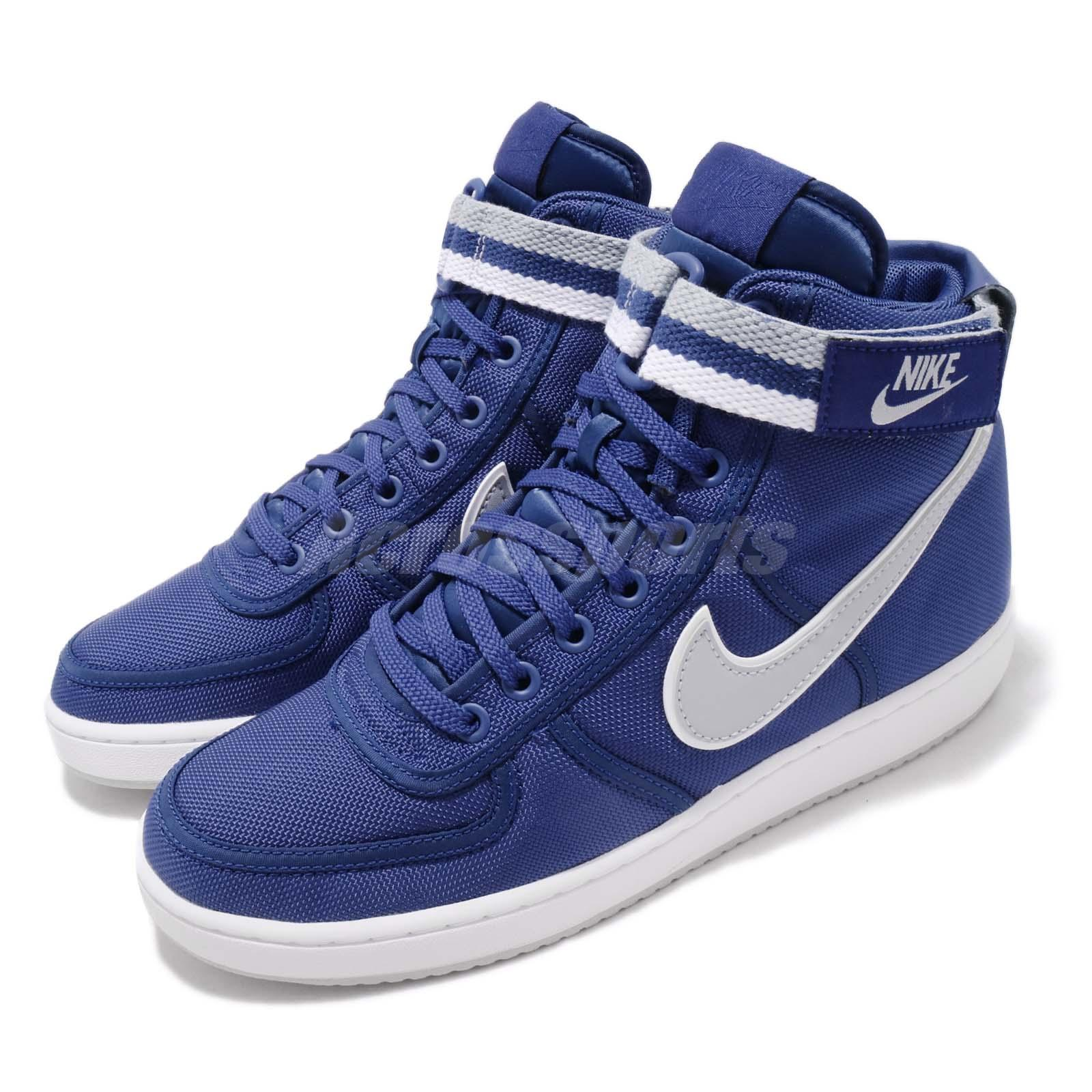 5043d6ae7b9 Details about Nike Vandal High Supreme Deep Royal Blue Grey Men Casual Shoe  Sneaker 318330-403