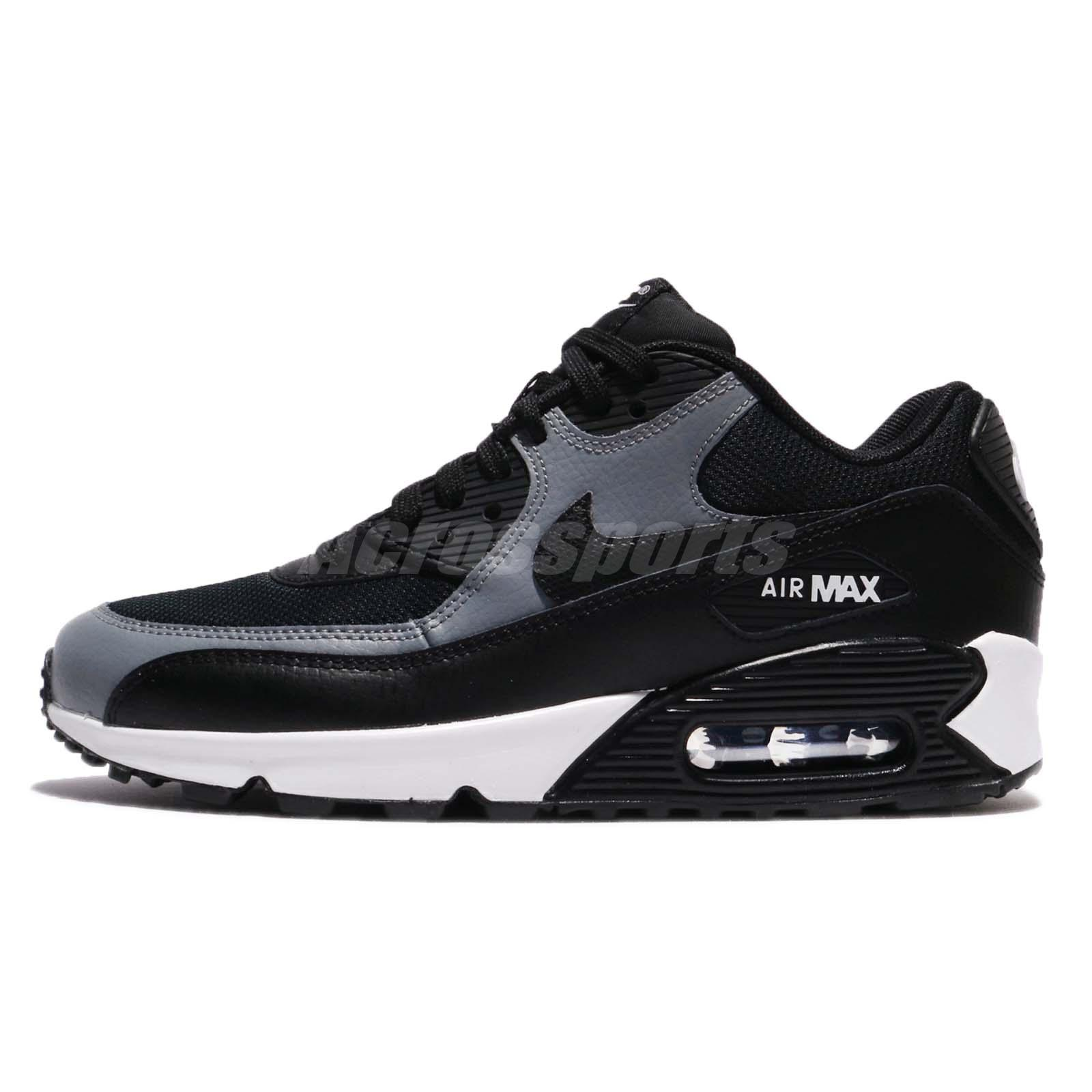 Nike WMNS Air Max 90 [325213-043] Women Casual Shoes Triple Black/Black
