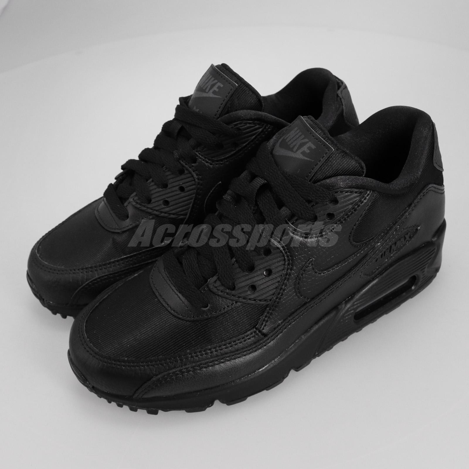 Nike Wmns Air Max 90 Right Foot With Us5 Black Women Shoes Us5 5