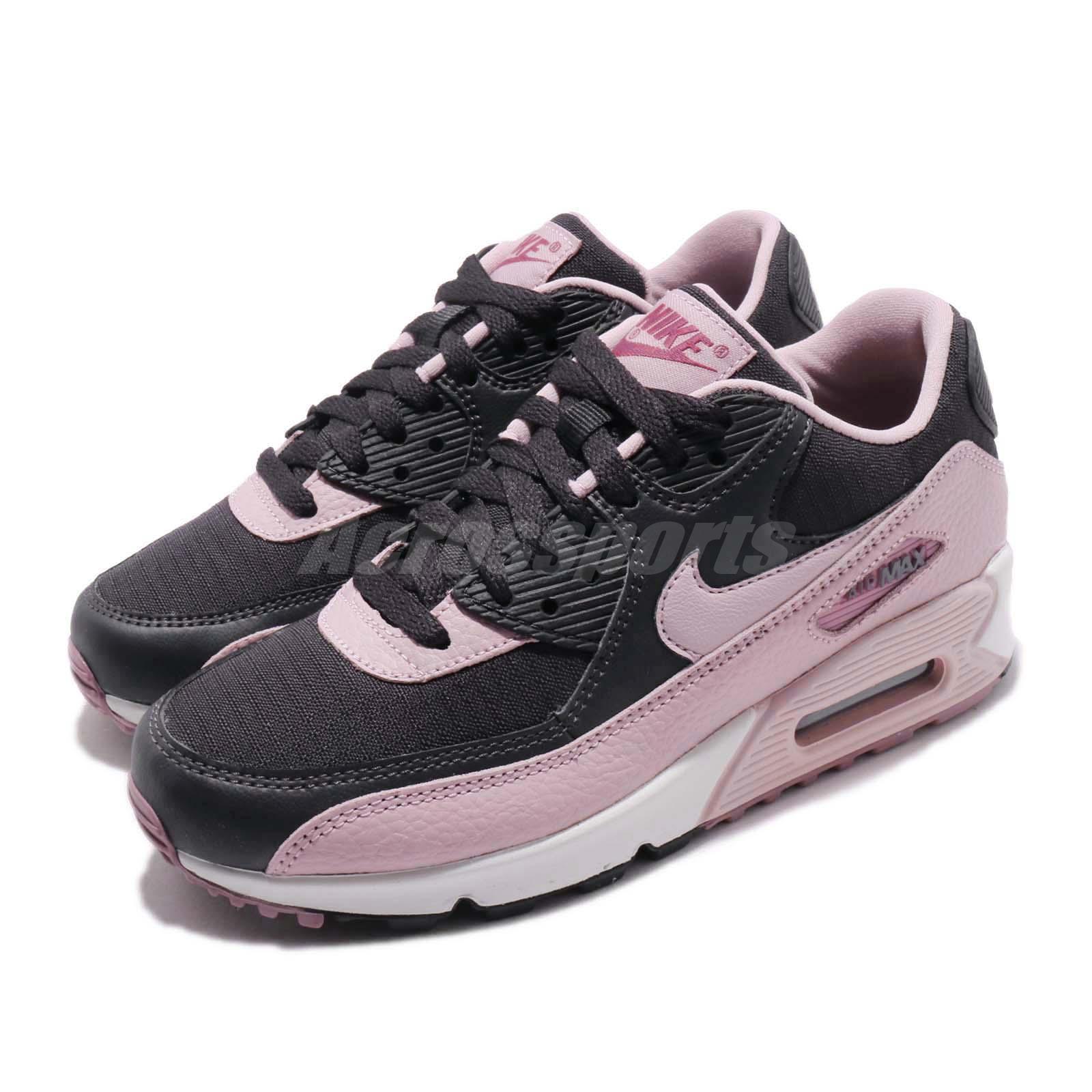 nike air max grey and pink