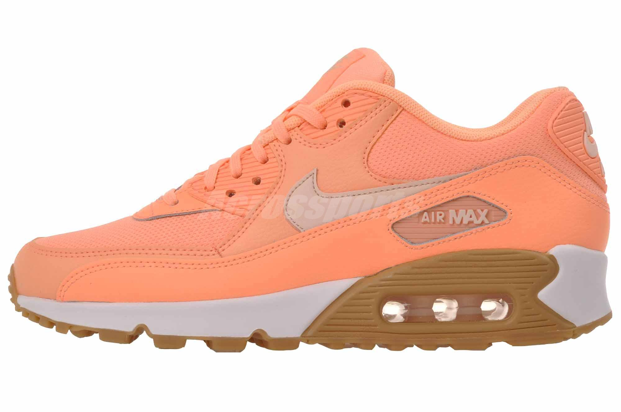 low priced 1ea5b 11800 ... Nike Wmns Air Max 90 Running Womens Shoes Sunset Glow 325213-802 ...