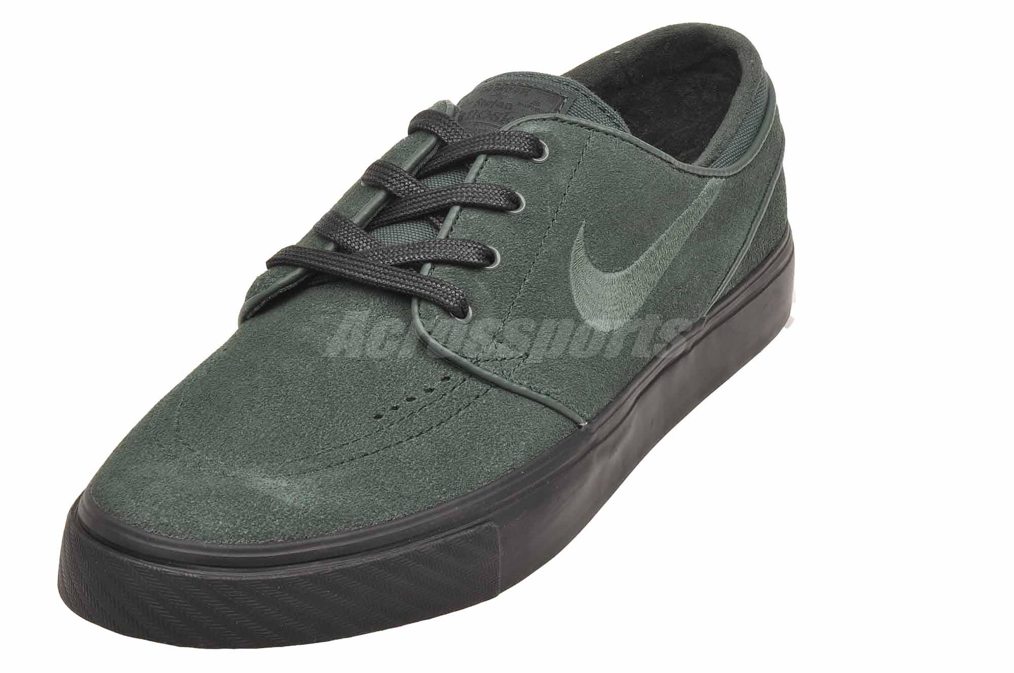 66699164f89f5 Nike Zoom Stefan Janoski Skate Boarding Mens SB Shoes Green 333824 ...