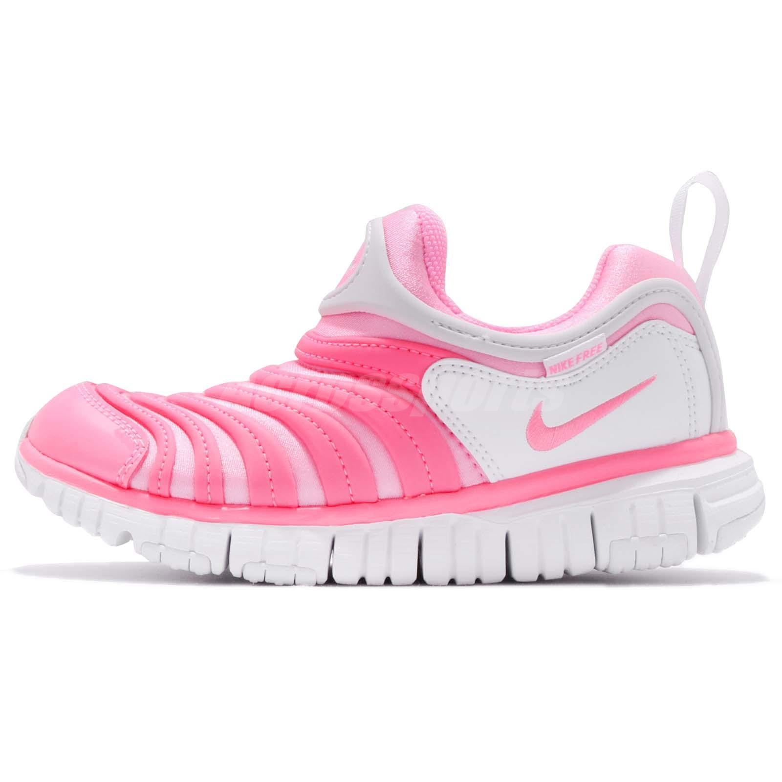 8e34942700cd ... new zealand nike dynamo free ps pink beam white preschool kids junior  girls shoes 343738 625