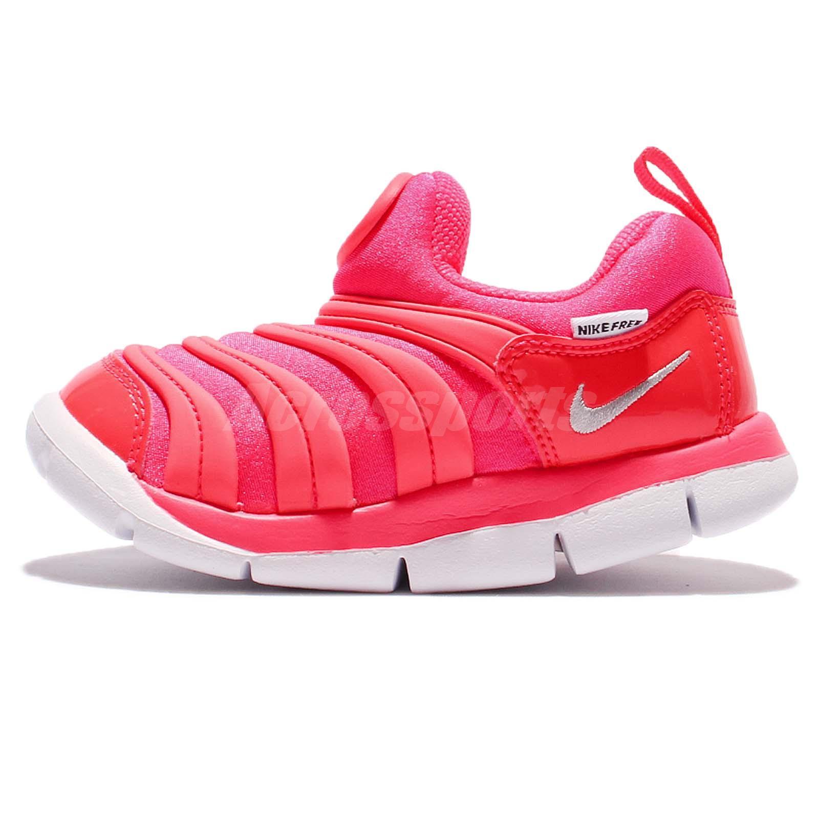 Nike Dynamo Free TD Toddler Infant Kids Baby Pink Prewalkers Shoes