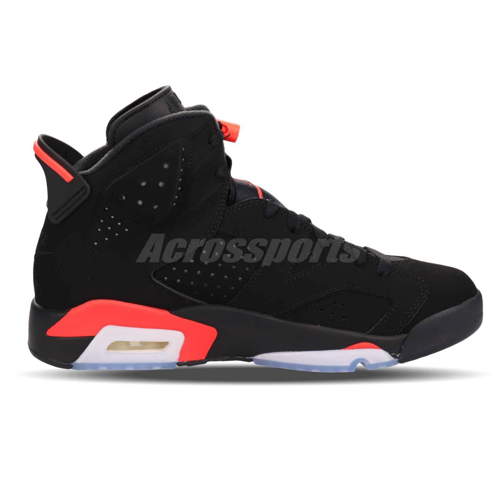 4424be3815ea Nike Air Jordan 6 Retro Infrared Black OG 2019 Release VI 6s 384664 ...