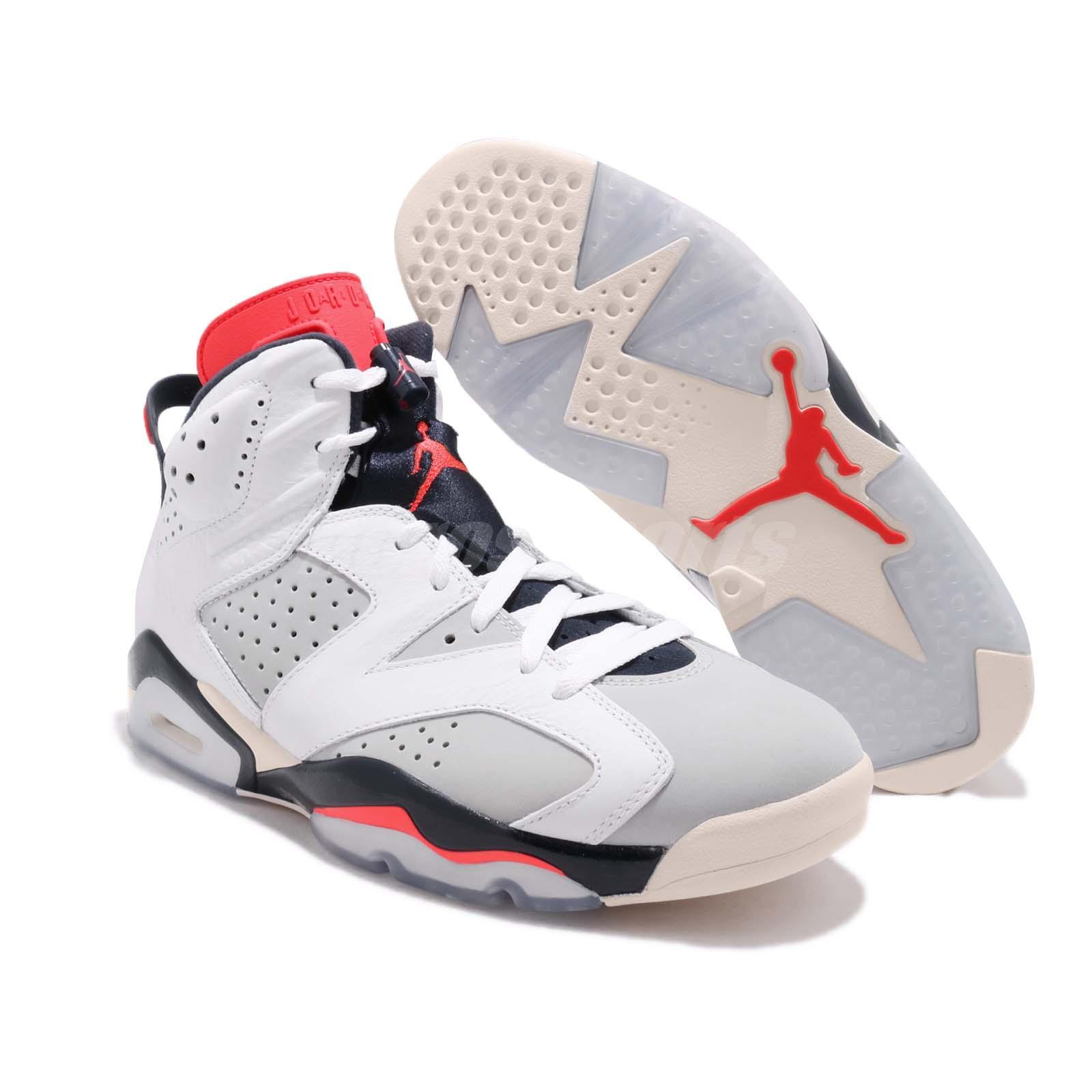 88368731a62 ... coupon for nike air jordan 6 retro tinker hatfield white infrared 23  grey vi f465f 0a58c